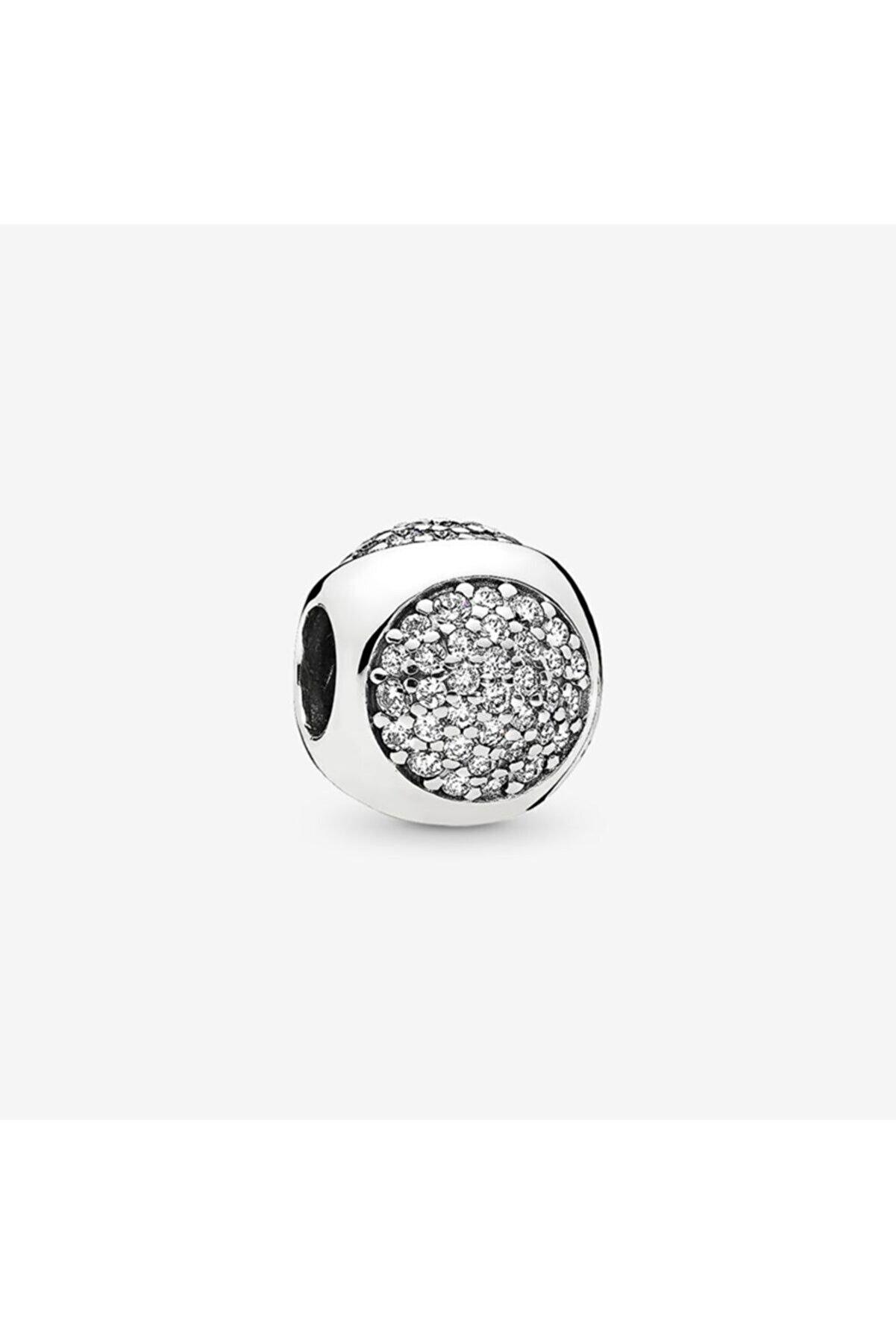 My Story Zirkon Taşlı Damlacık Pandora Bileklikleri İçin Gümüş Charm
