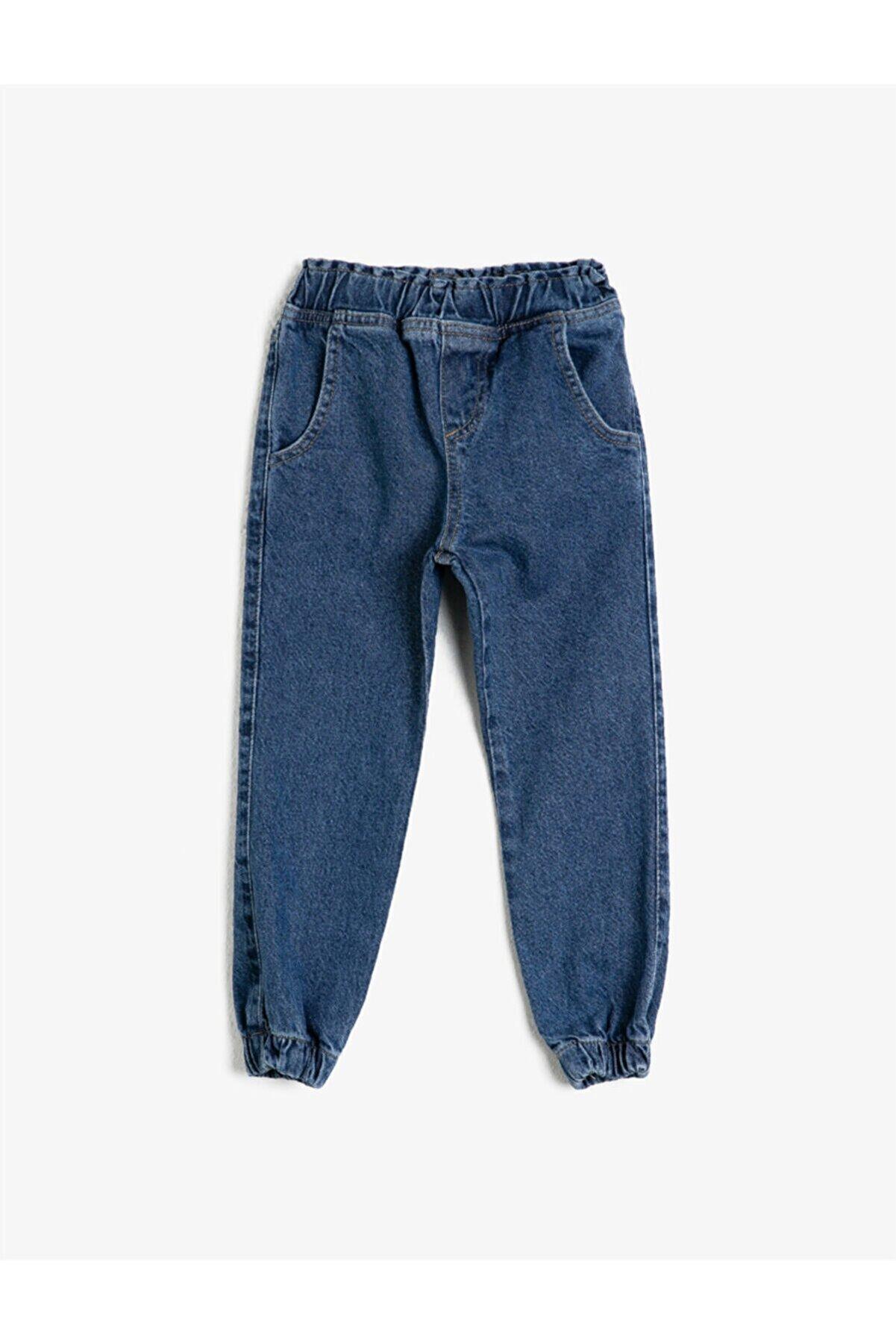 Koton Erkek Çocuk Normal Bel Pamuklu Jean Pantolon