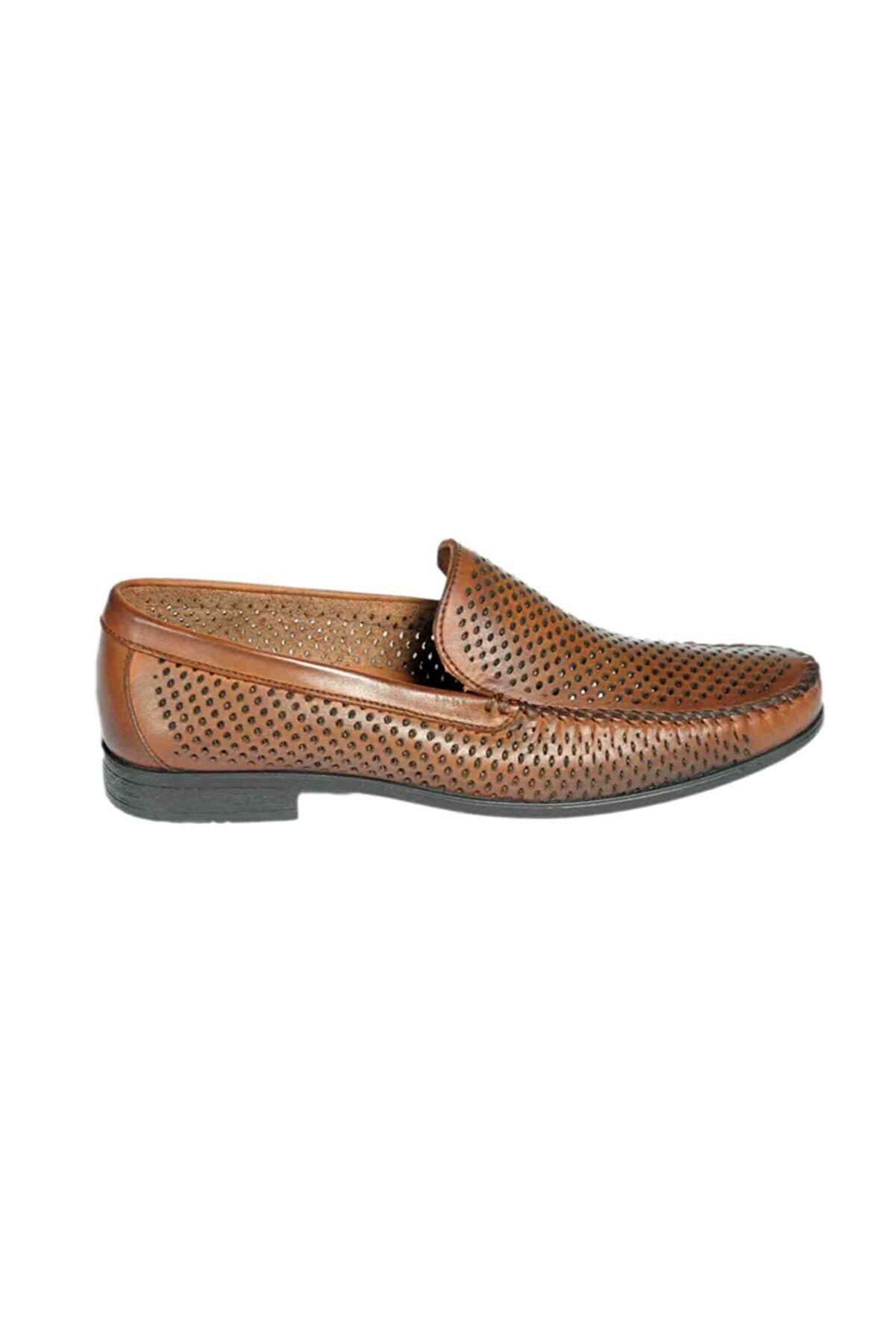 Brunossi Erkek Kahverengi  Loafer Ayakkabı