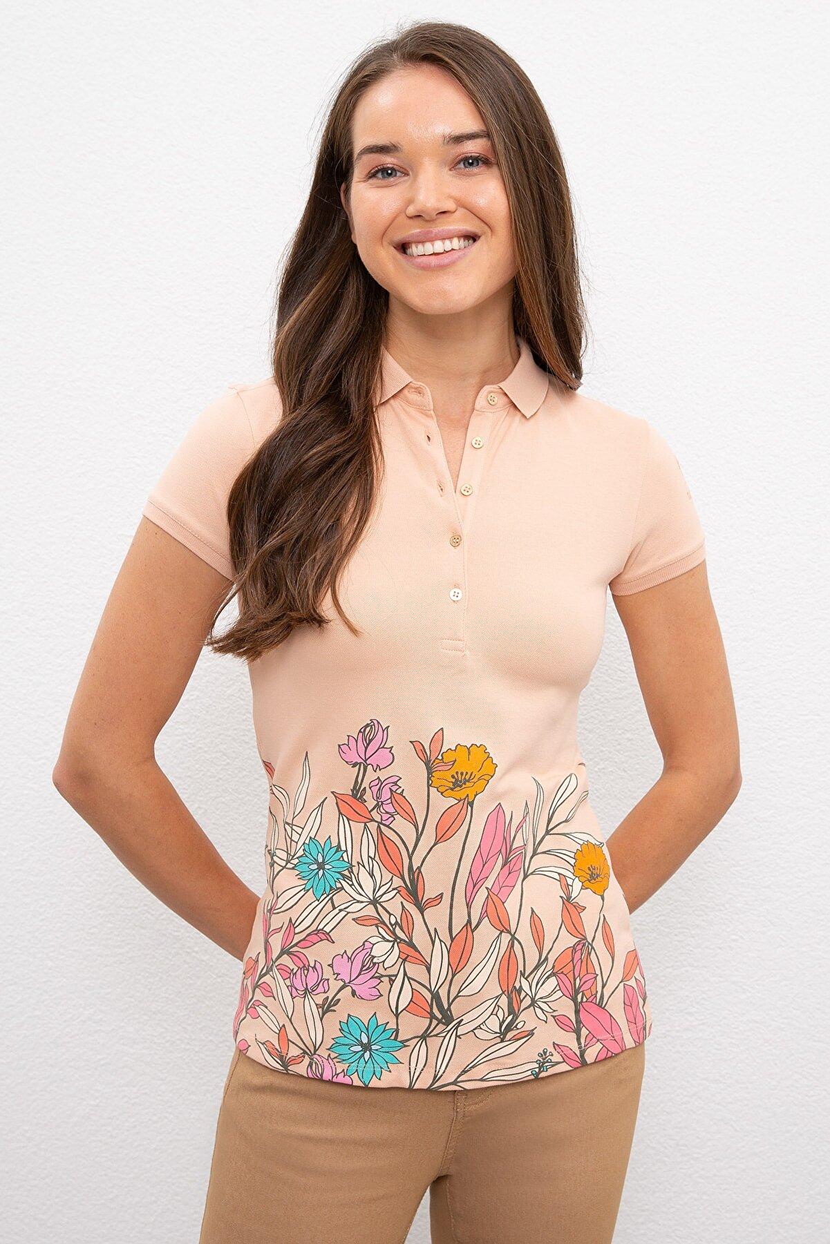 US Polo Assn Kadın T-Shirt G082SZ011.000.971027
