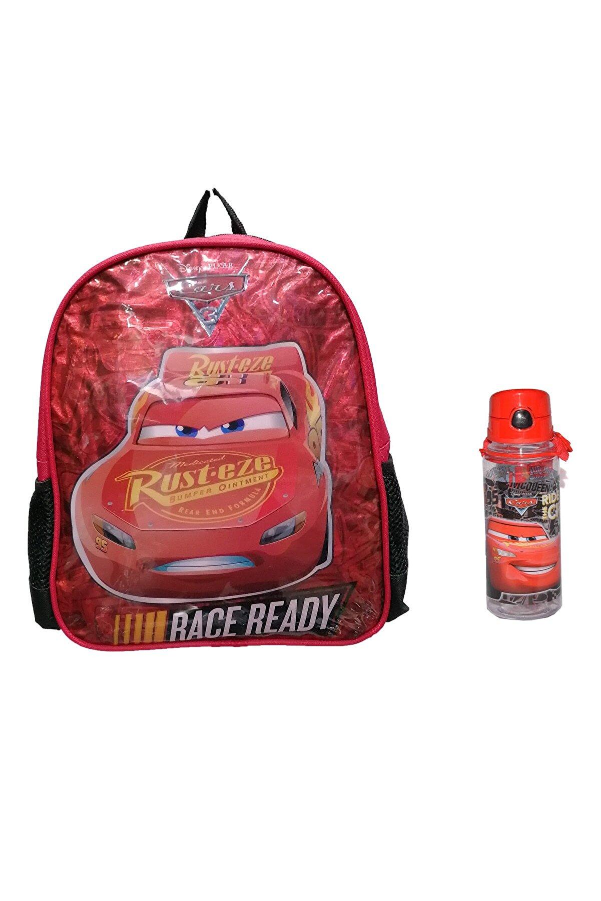 Cars - Şimşek Mcqueen Cars Anaokulu Kreş Ve Günlük Kullanım Sırt Çantası