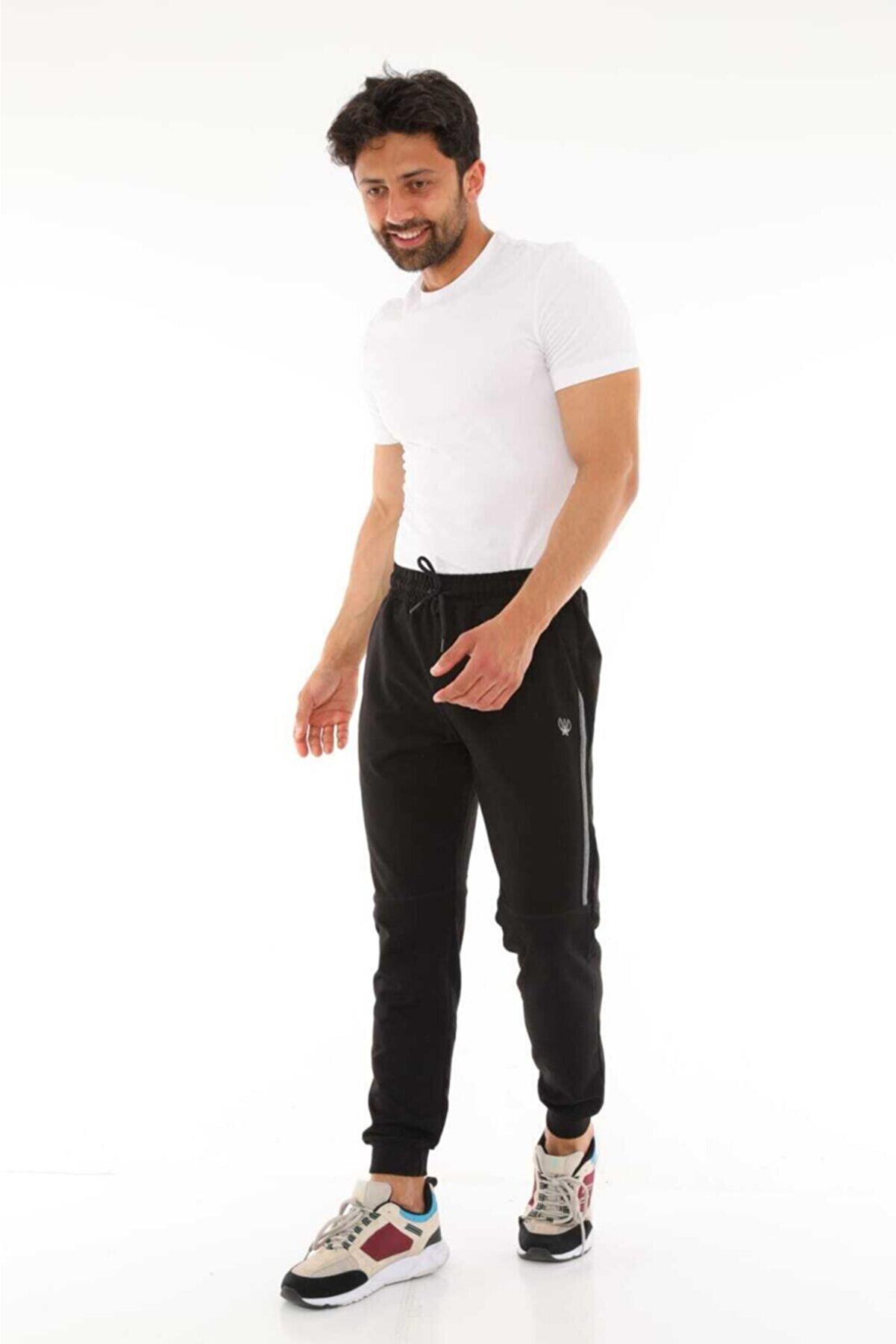 whitestar Unisex Siyah Eşofman Altı
