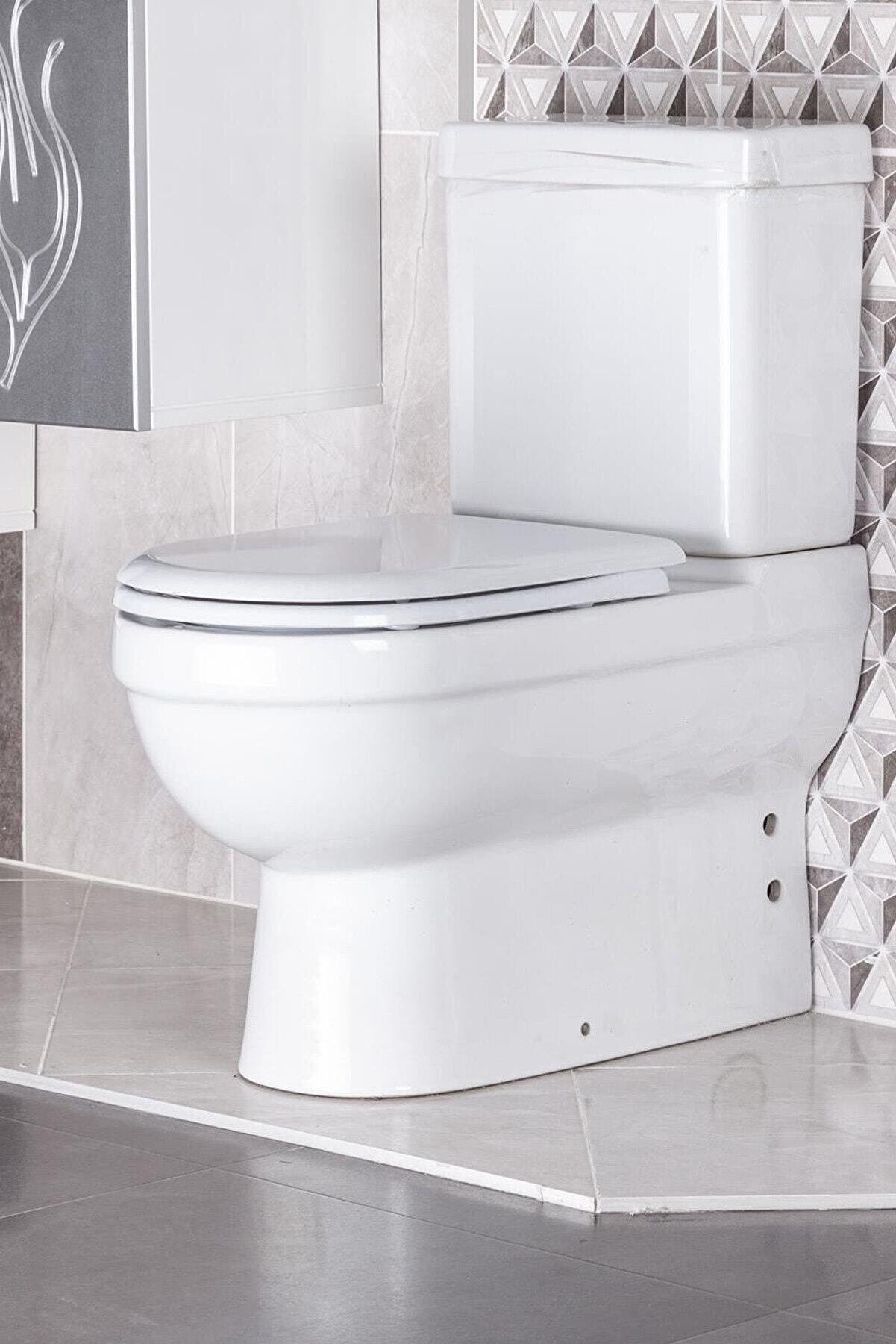 Teknotel Ayakli Tuvalet Kağıtlık Ve Çöp Kovasi