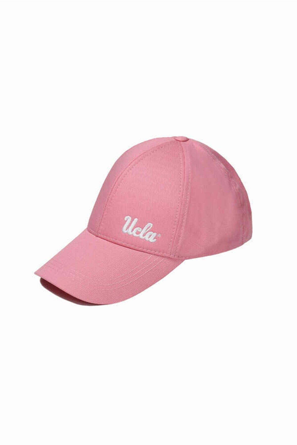 Ucla Jenner Pembe Baseball Cap Nakışlı Şapka