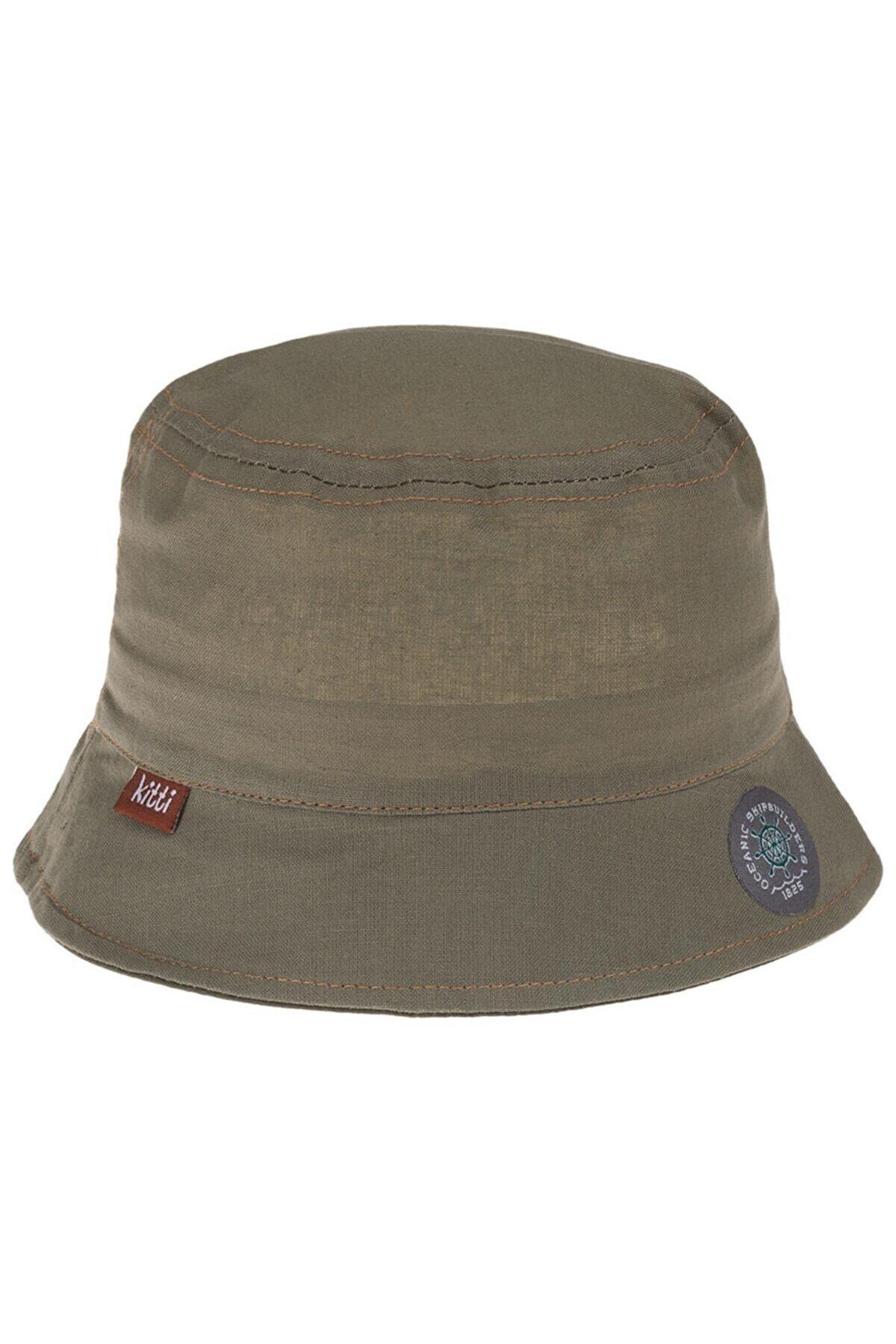 Kitti P-y1130-12 Bebe Erkek Fötr Şapka (1-4yaş)