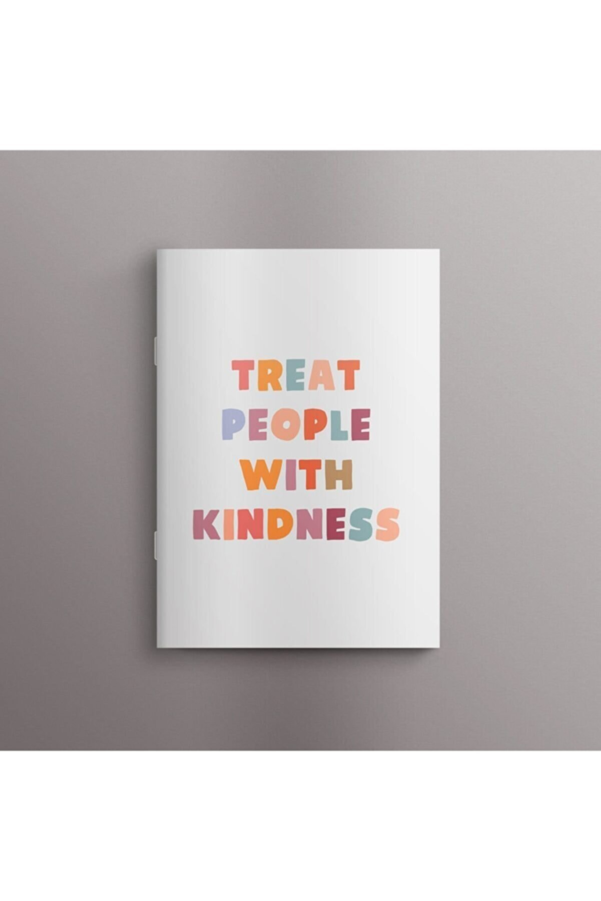 Bookalemuntr Treat People With Kindness Defter 60 Sayfa