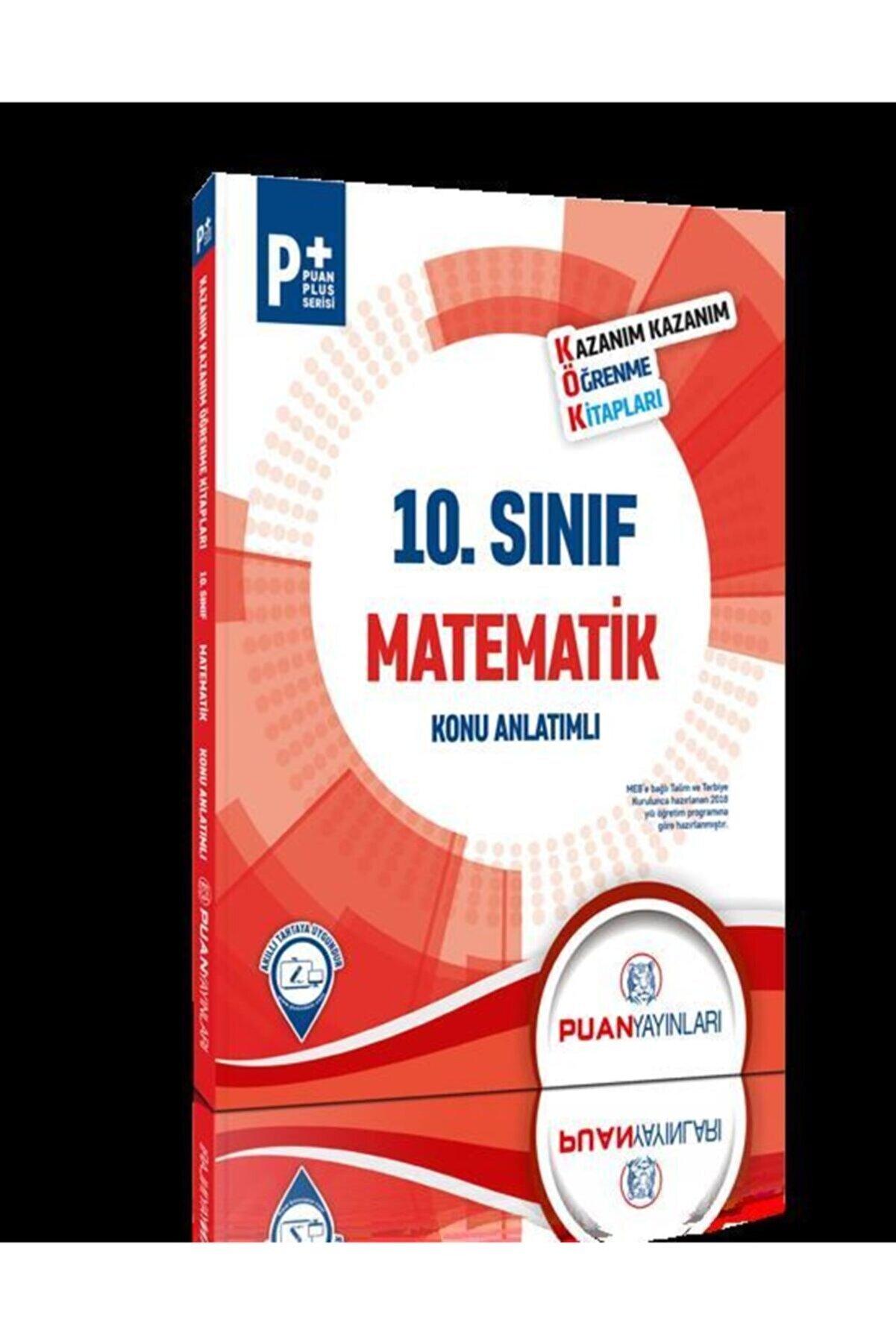 Puan Yayınları Puan 10.sınıf Matematik Konu Anlatımlı