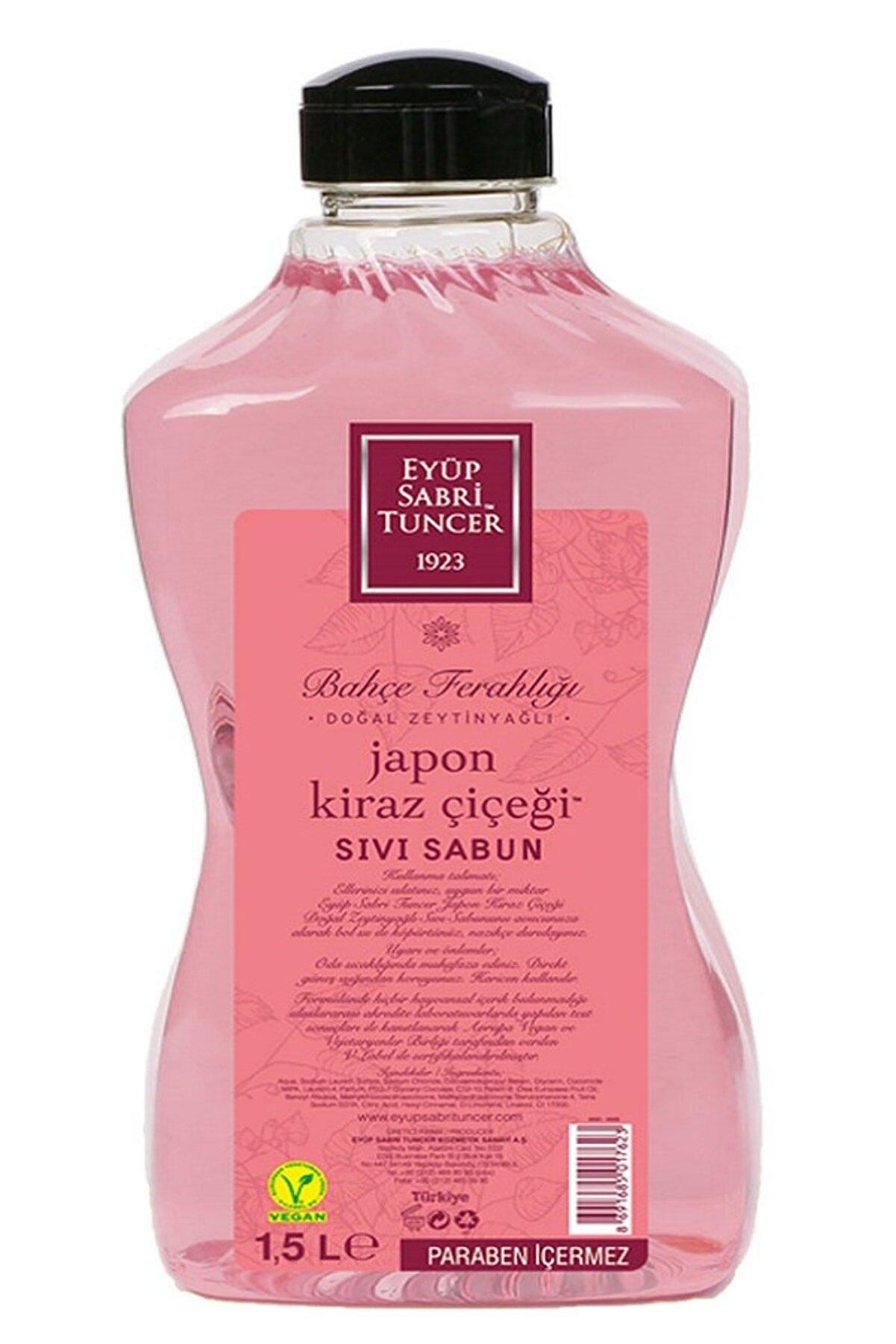 Eyüp Sabri Tuncer Japon Kiraz Çiçeği Sıvı Sabun 1500 ml