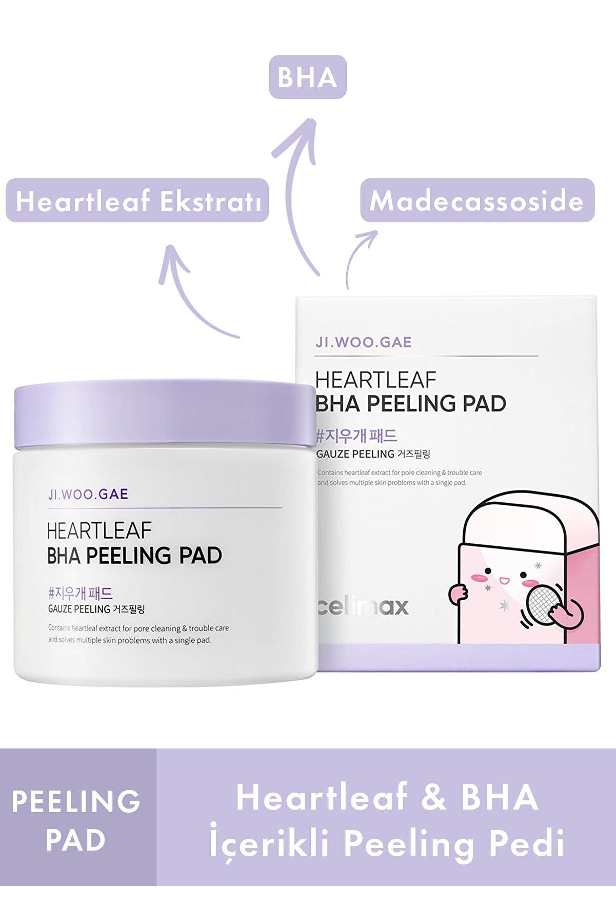 Celimax Jiwoogae Heartleaf Bha Peeling Pad 60'lı