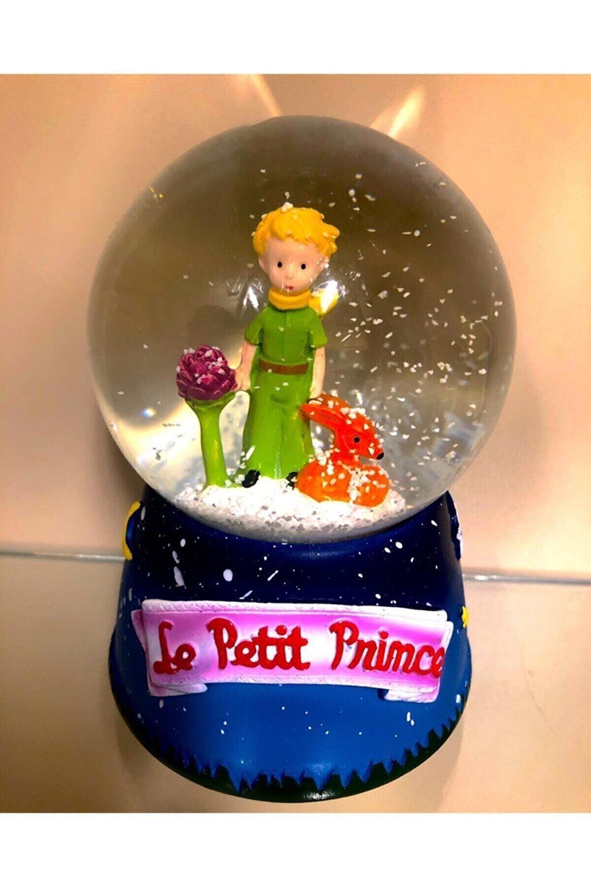 bakiim Küçük Prens Büyük Boy Müzikli Işıklı Kar Küresi