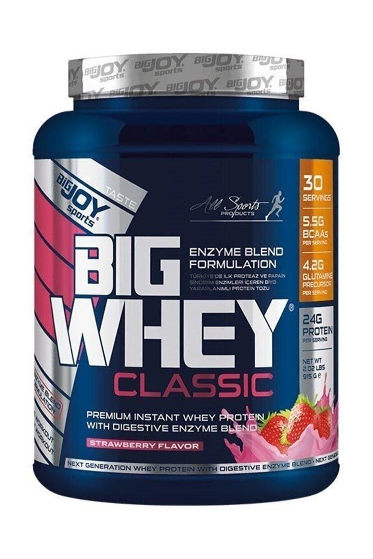 Bigjoy Sports Bigjoy Big Whey Classic Whey Protein 915 gr Çilek