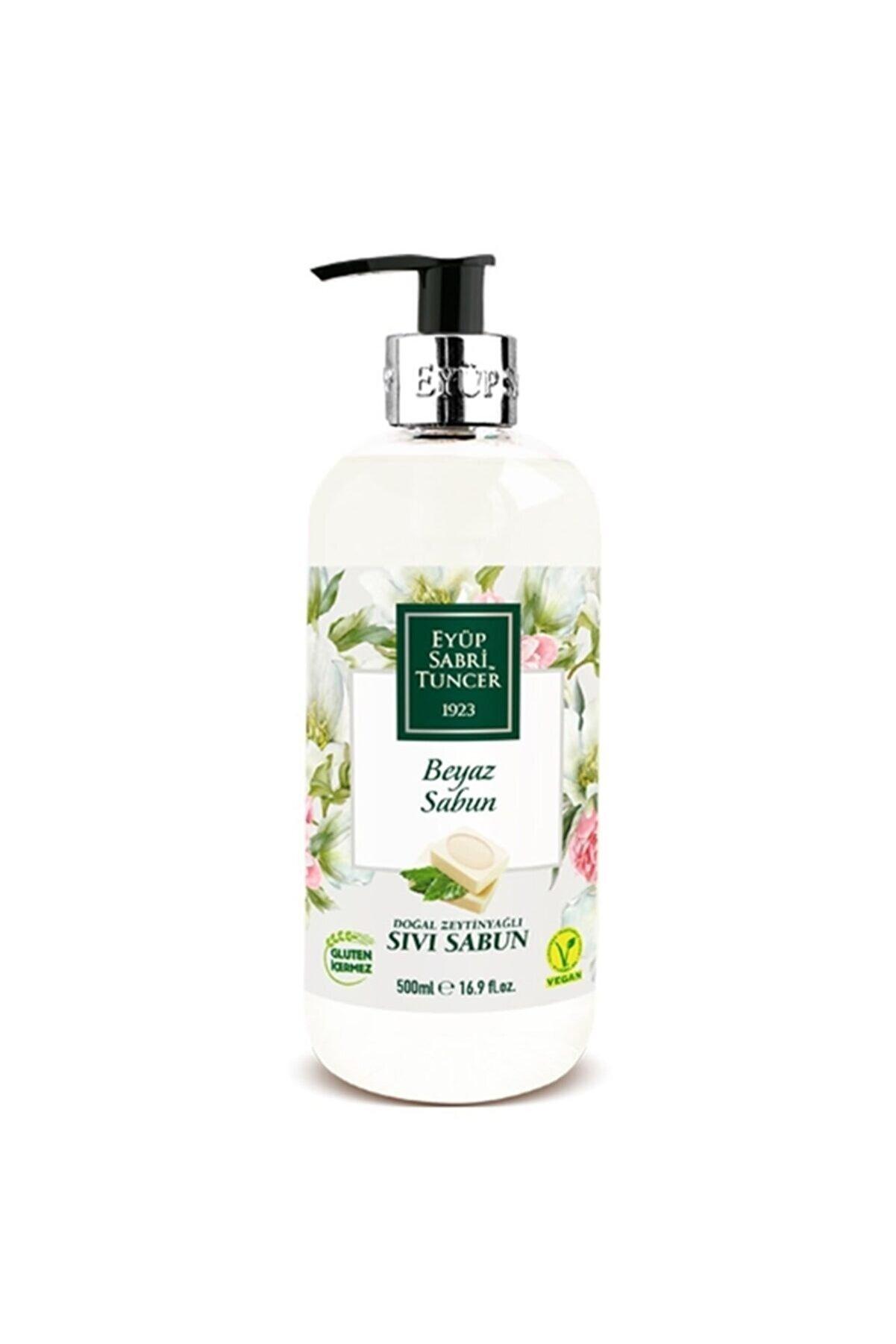Eyüp Sabri Tuncer Doğal Zeytinyağlı Beyaz Sıvı Sabun 500 ml