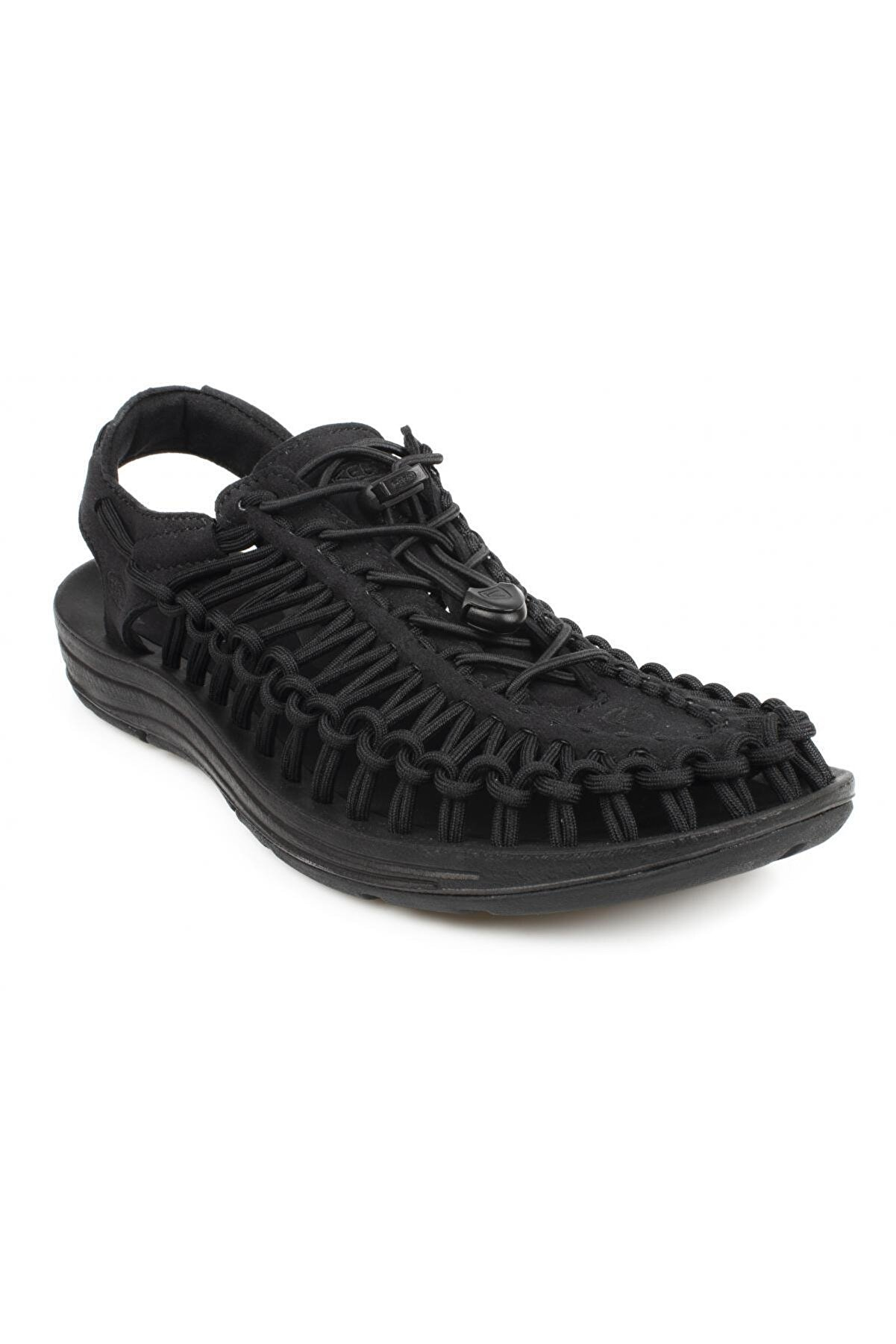 Keen Erkek  Siyah Sandalet