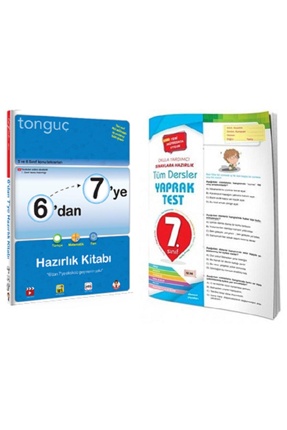 Tonguç Akademi 6'dan 7'ye Hazırlık Kitabı Ve 7. Sınıf Yaprak Test