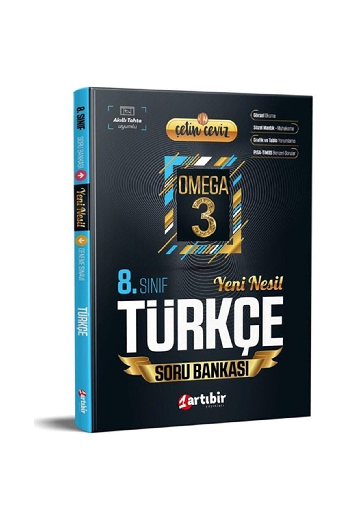 Artıbir Yayınları 8.sınıf Türkçe Soru Bankası Çetin Ceviz Omega 3
