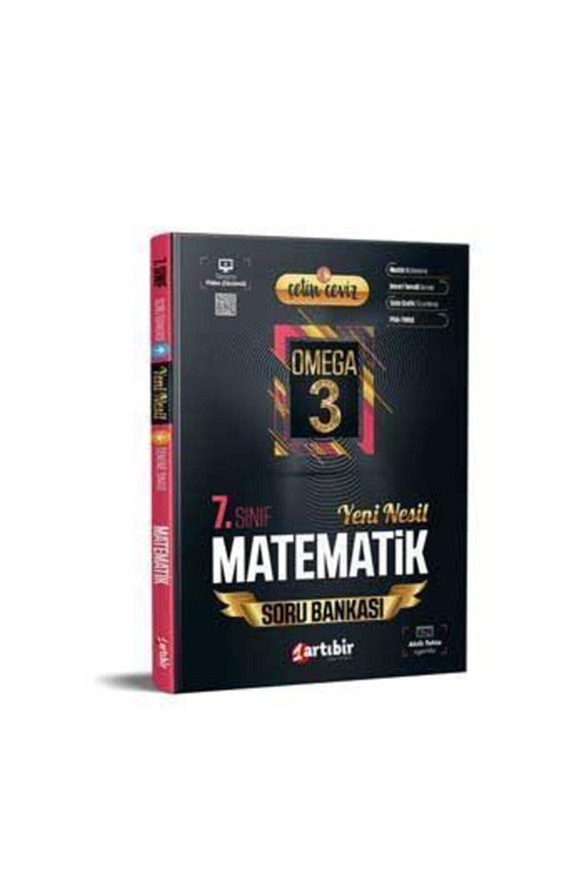 Artıbir Yayınları 7.Sınıf Çetin Ceviz Omega Matematik Soru Bankası