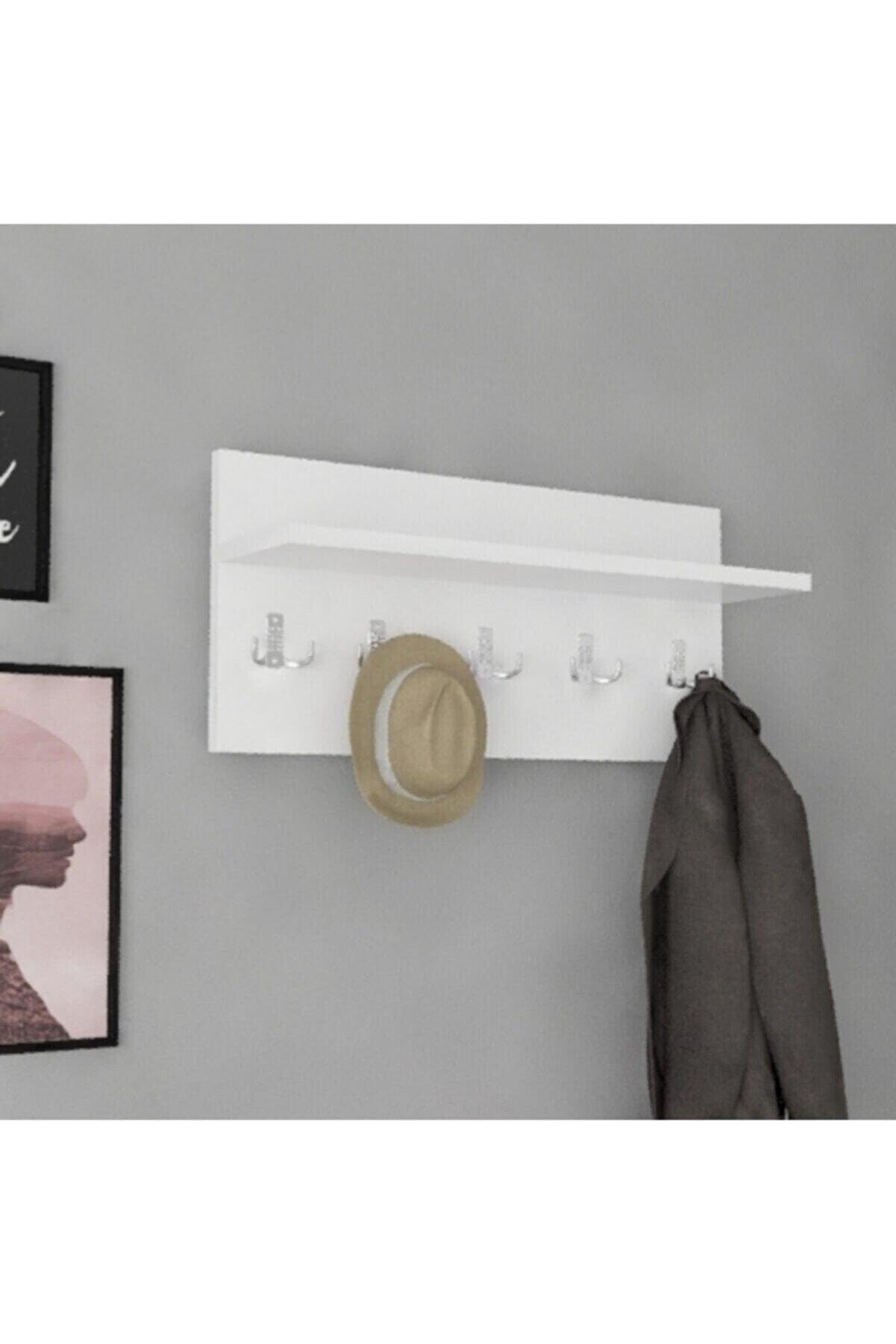 Saber Kapı Arkası Ve Duvar Askısı Hol Koridor Mutfak Ve Banyo Askılığı Havlu Elbise Askılığı