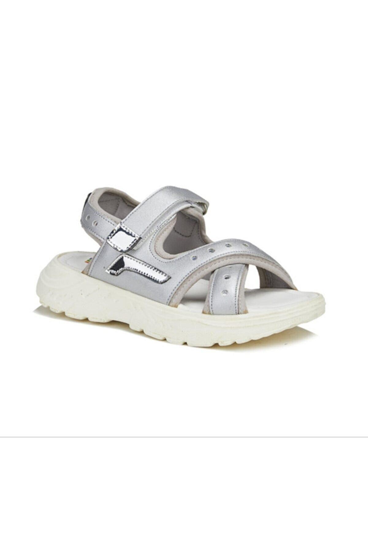 Vicco Vega Kız Çocuk Gümüş Sandalet