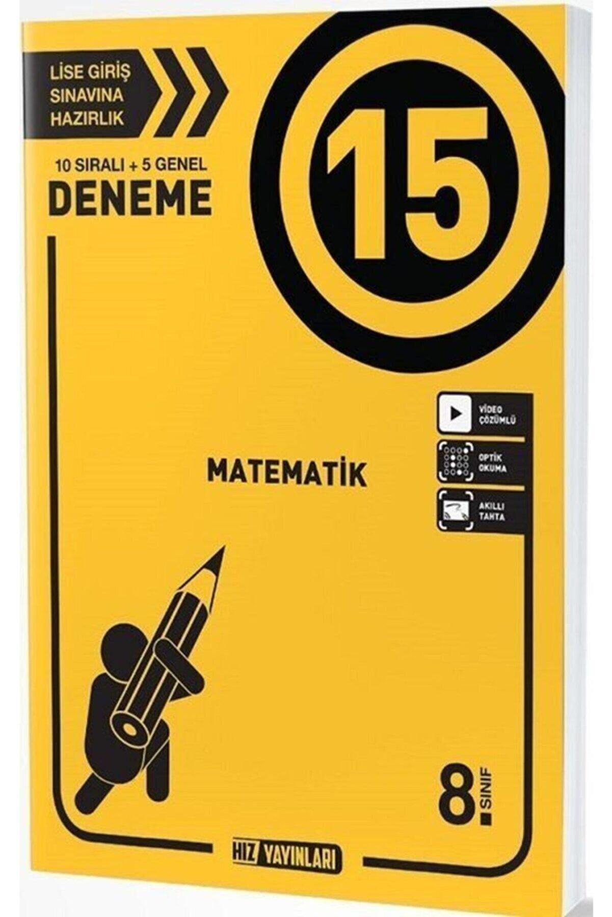 Hız Yayınları I 8. Sınıf Lgs Matematik 15 Deneme