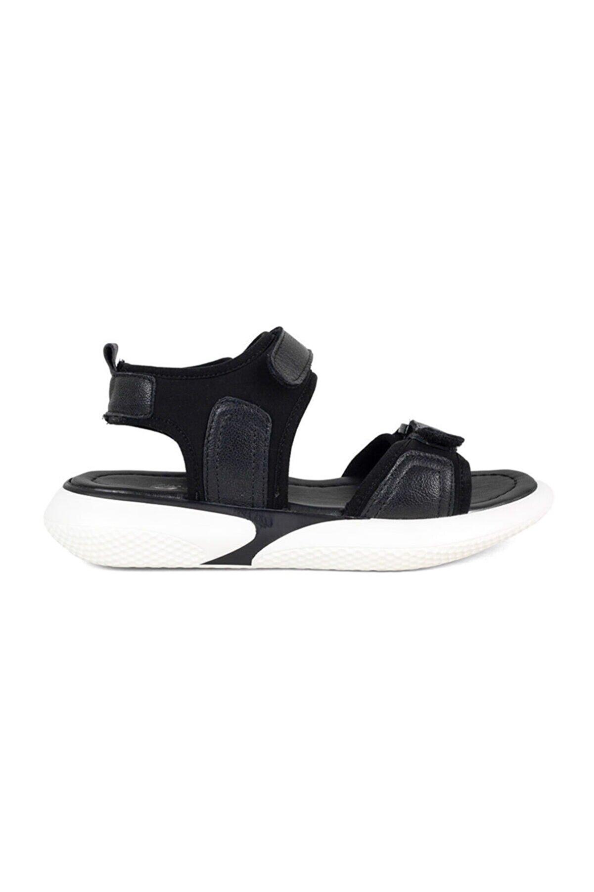 Greyder Kadın Siyah Sandalet