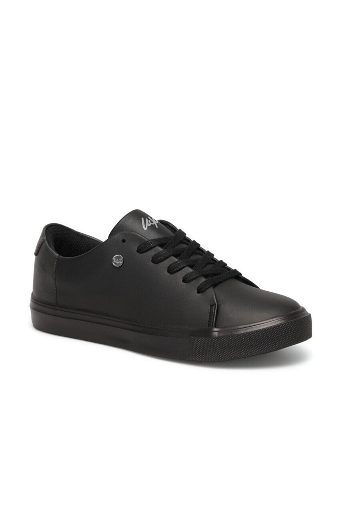 US Polo Assn Kadın Siyah Havuz Taban Sneaker