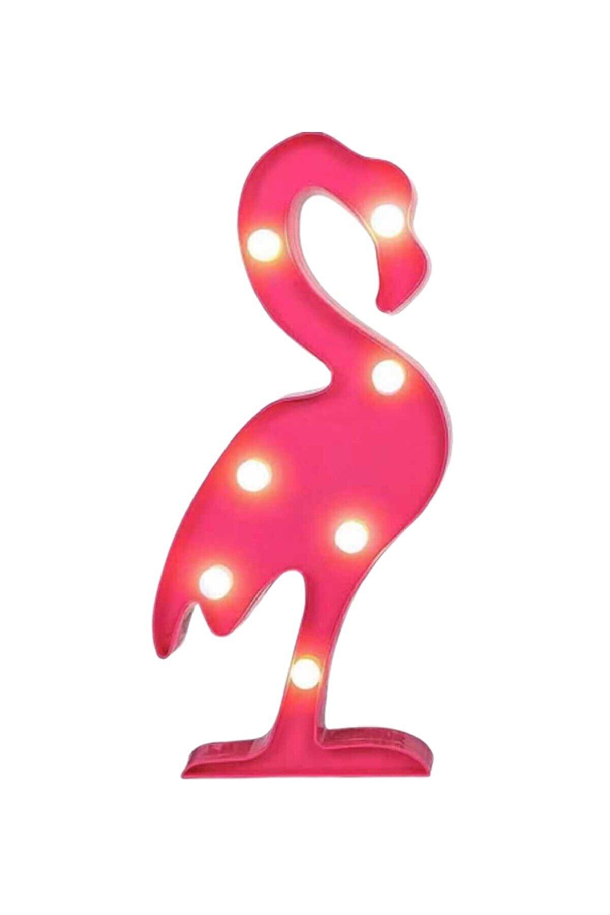 MAGICLEDCORNER Flamingo Ledli Pano
