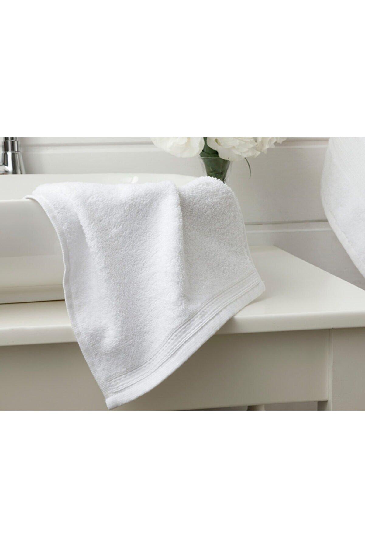 English Home Pure Basic El Havlusu 30x30 Cm Beyaz