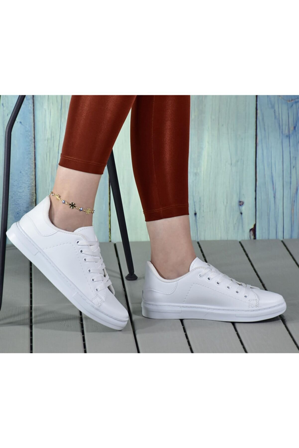 ODESA AYAKKABI MARKET Kadın Casual Bağcıklı Spor Ayakkabı