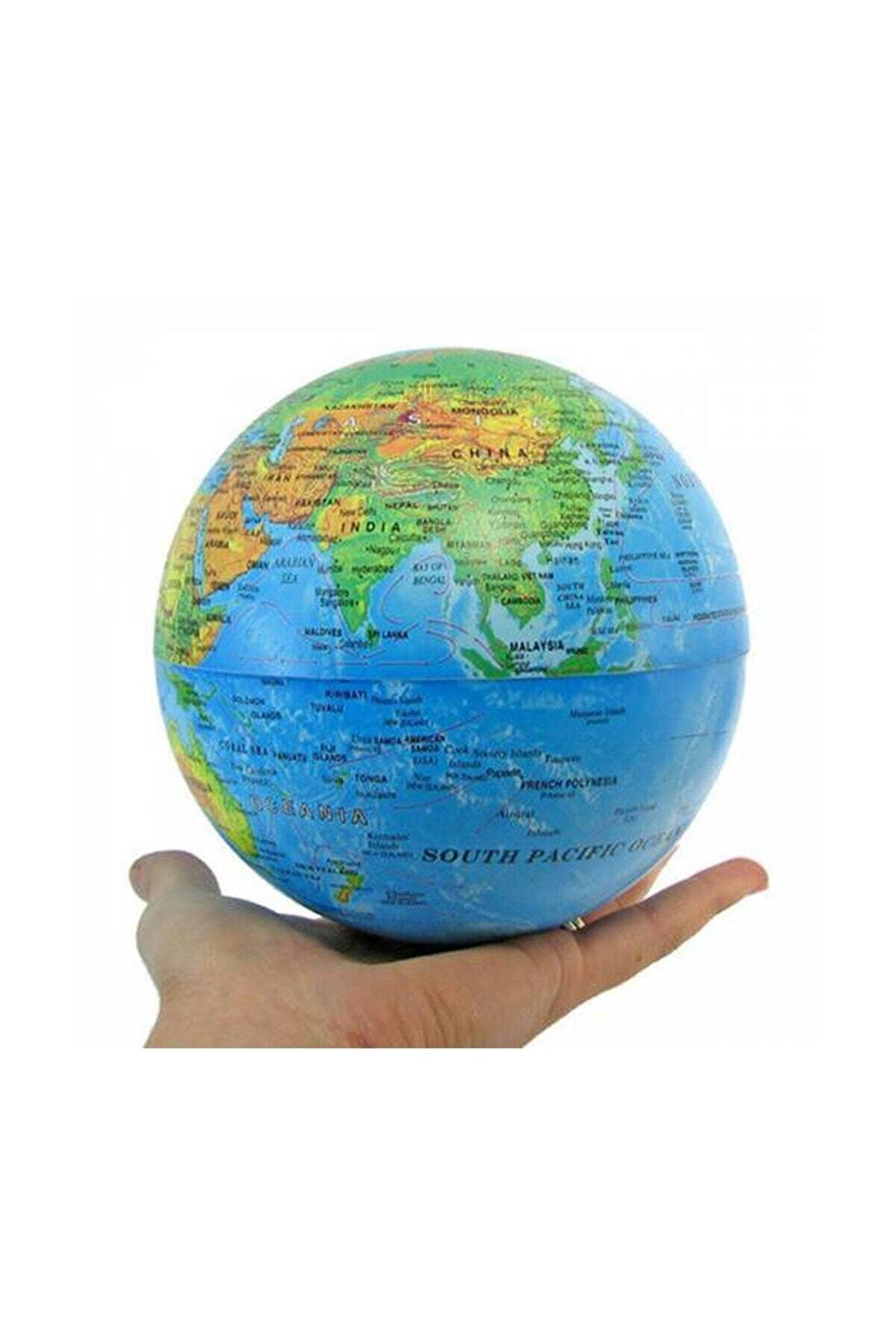 Masis Işıklı Dünya Siyasi Döner Küre 14 Cm