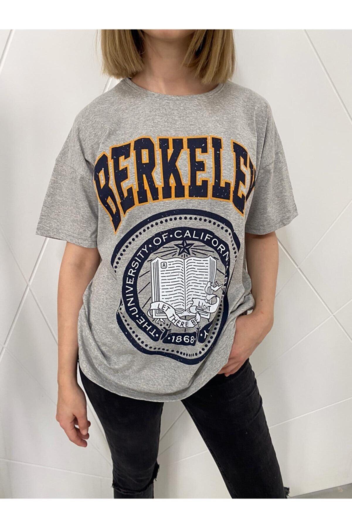 Black Sokak Kadın Berkeley Tshirt