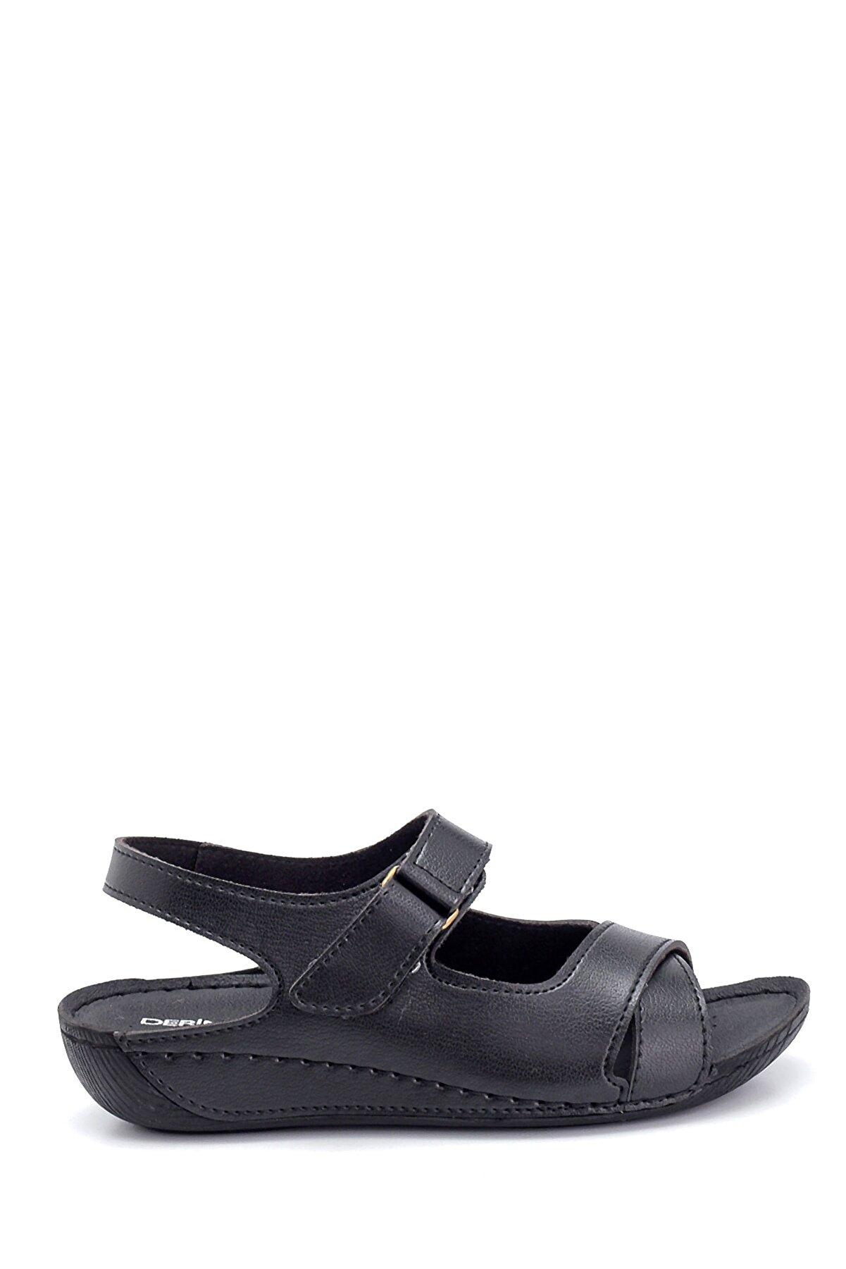 Derimod Kadın Dolgu Topuk Casual Sandalet