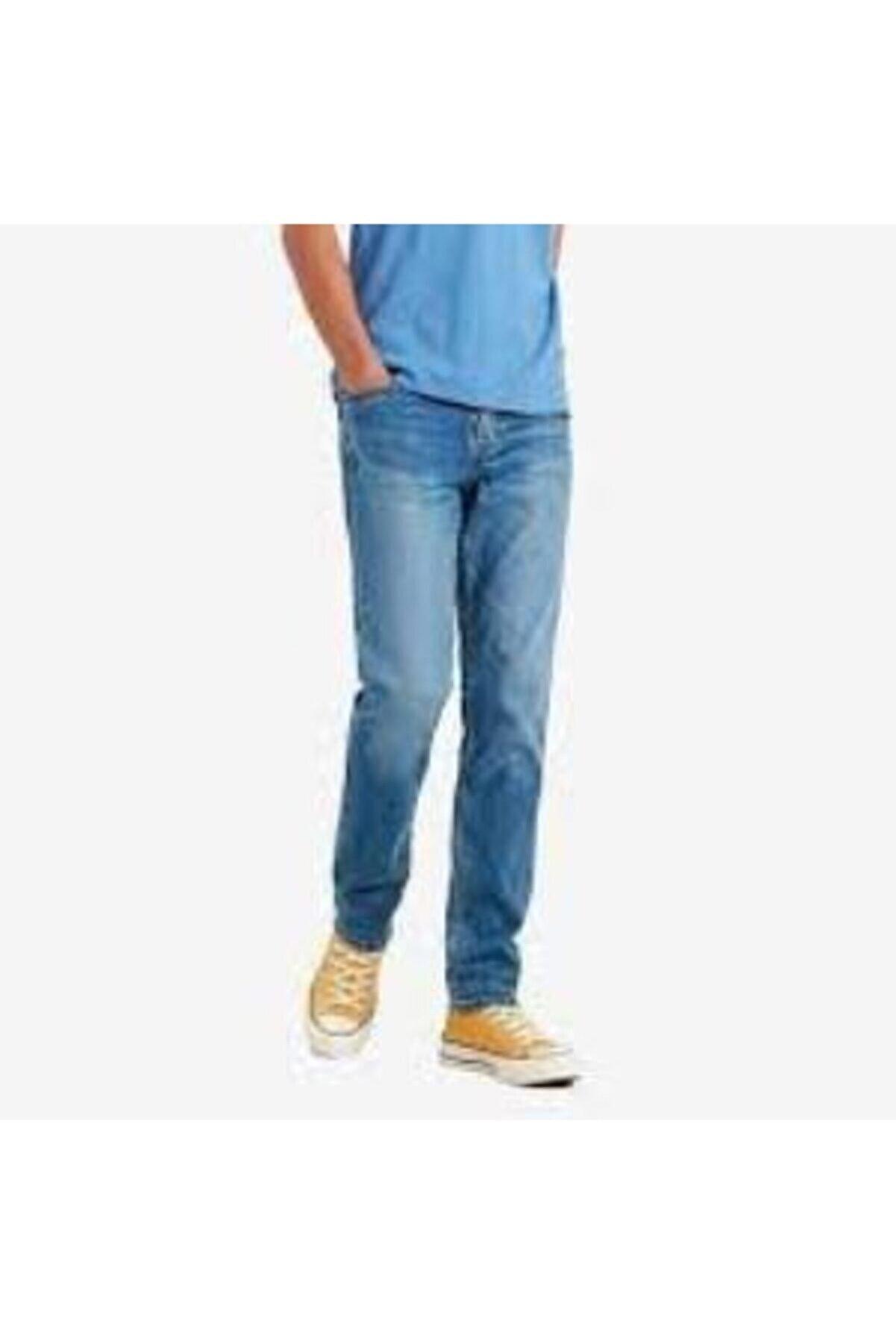 Levi's Erkek Mavi Slim Jean Pantolon