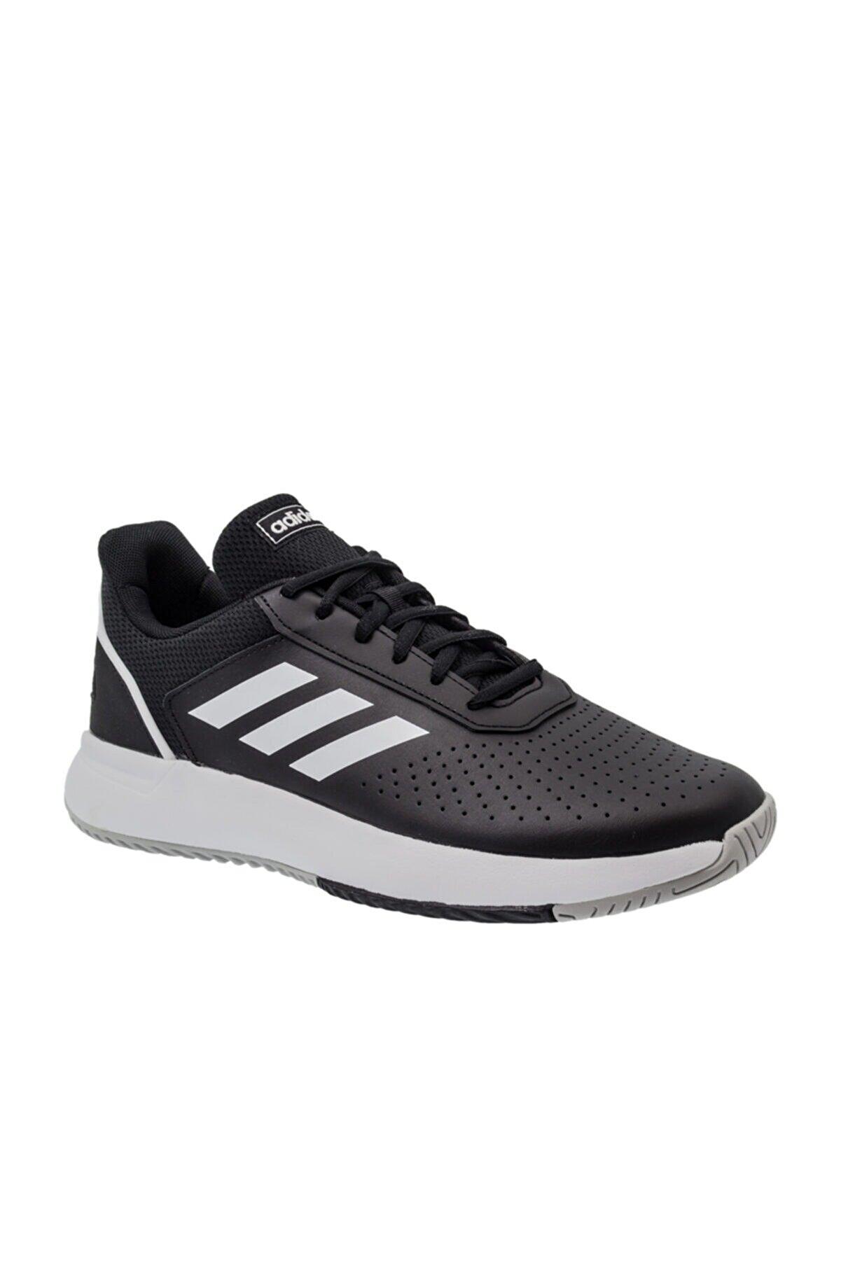 adidas COURTSMASH Siyah Erkek Sneaker Ayakkabı 101069231