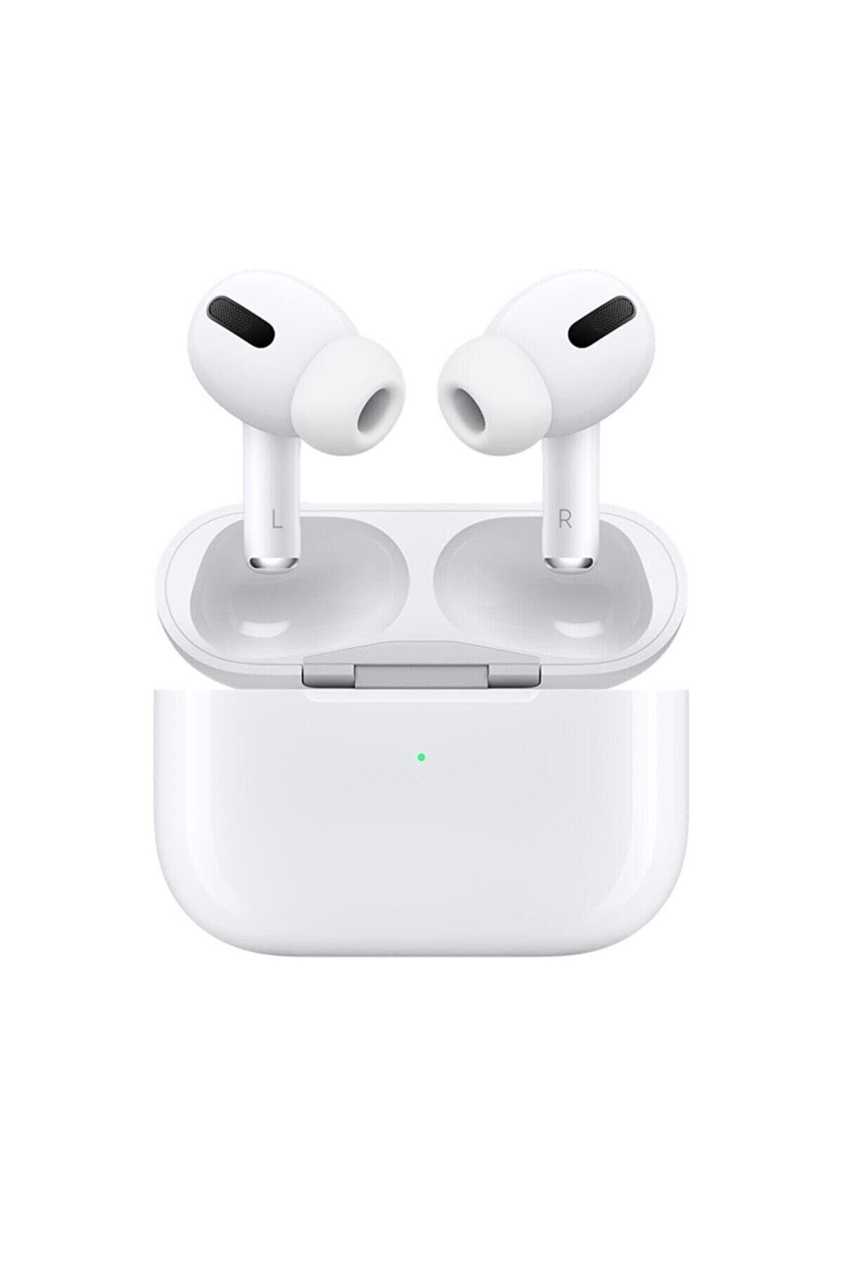emybox Powerway Btx99 Airpodspropods Stereo Çift Taraflı Yüksek Ses Uzun Pil Ömrü Bluetooth Kulaklık Beyaz