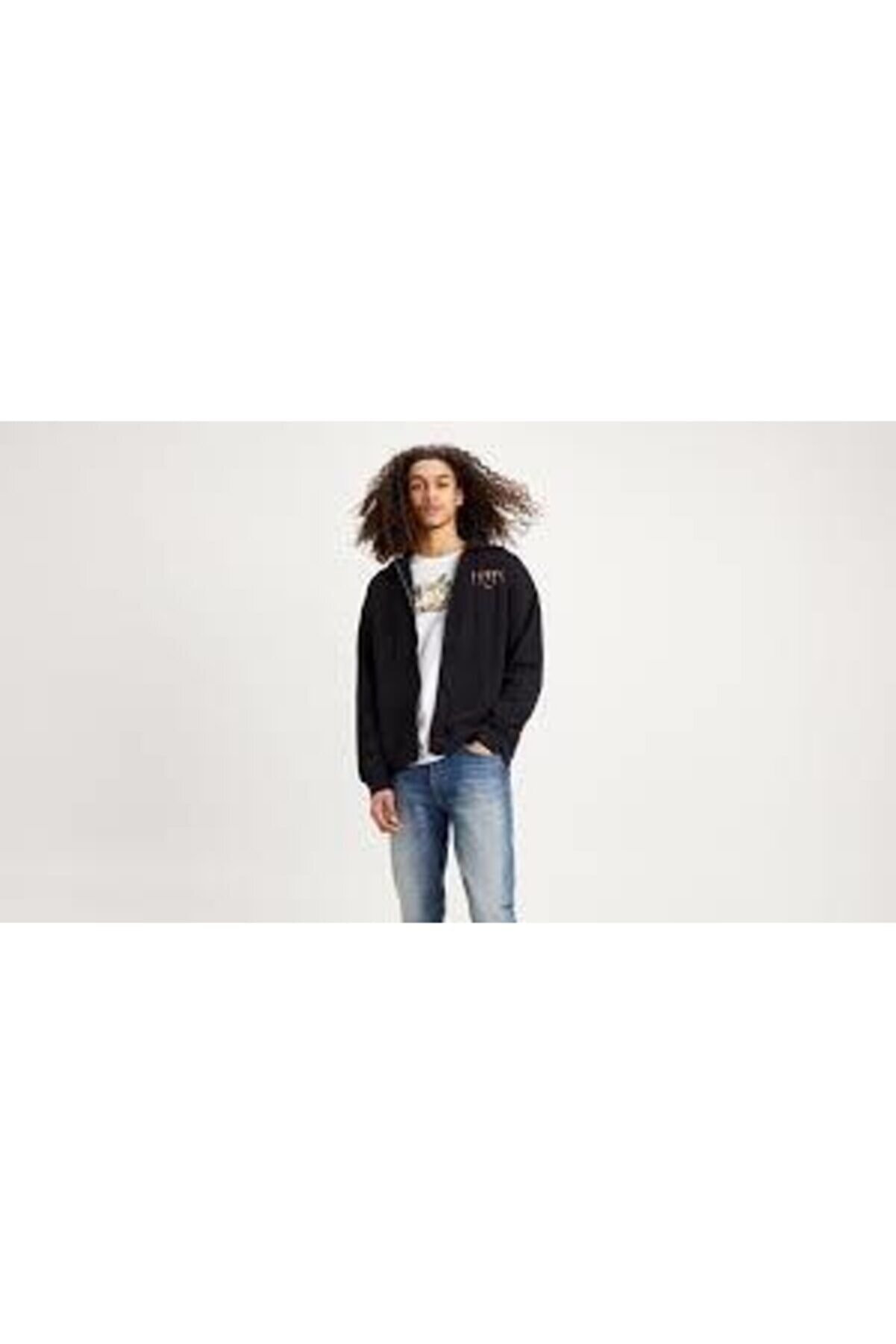 Levi's Kapüşonlu Erkek Sweatshirt 38717-0000
