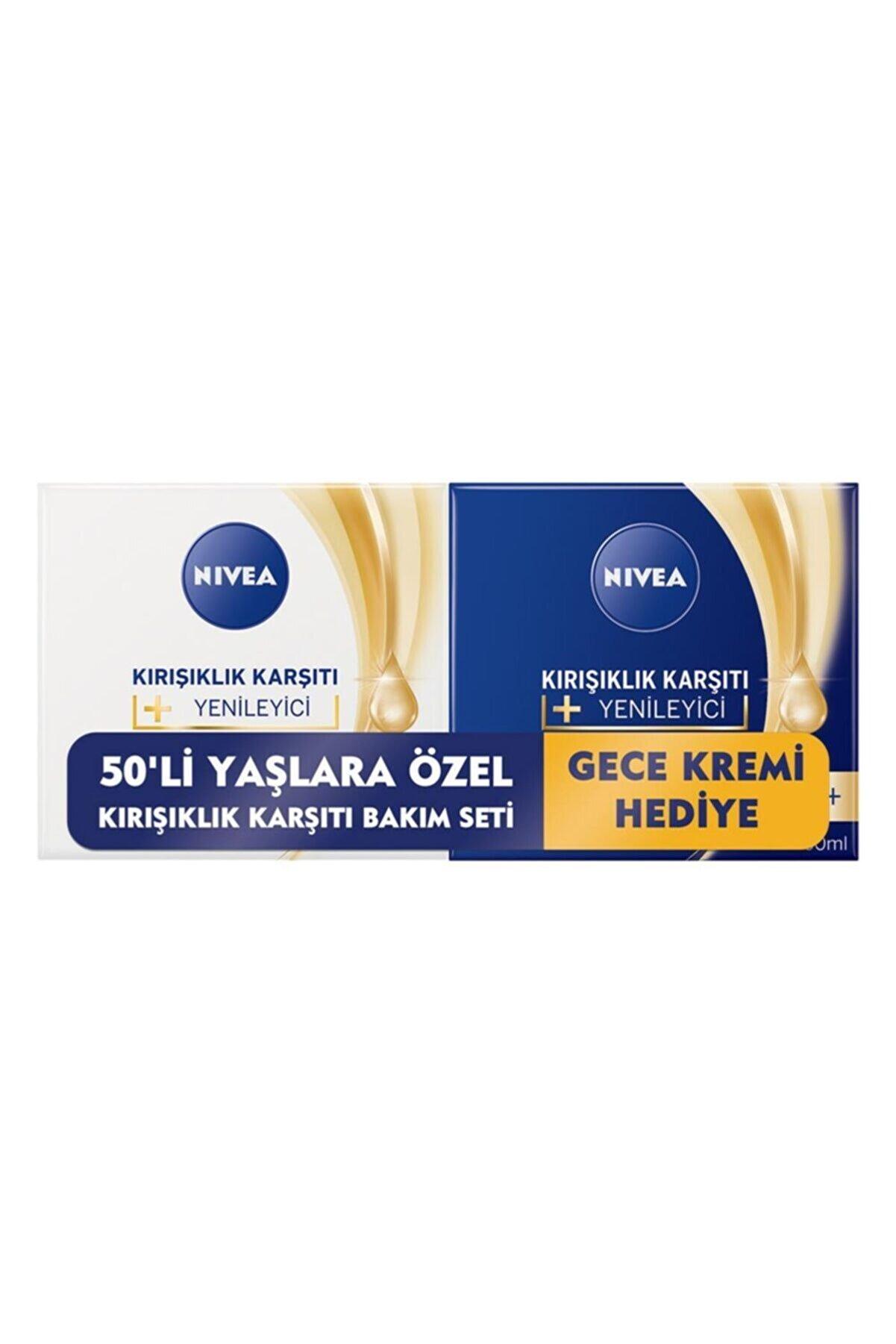 Nivea Kırışıklık Karşıtı Bakım Kremi 50+ 2'li Paket