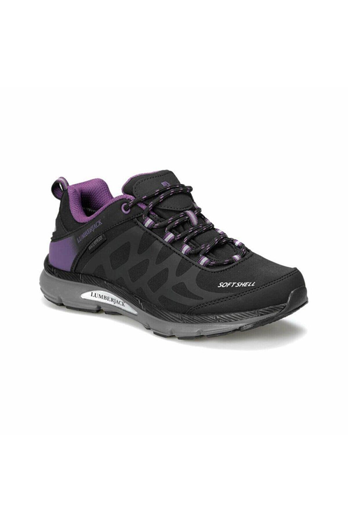 Lumberjack Ursa Kadın Siyah Spor Ayakkabı (100420837)