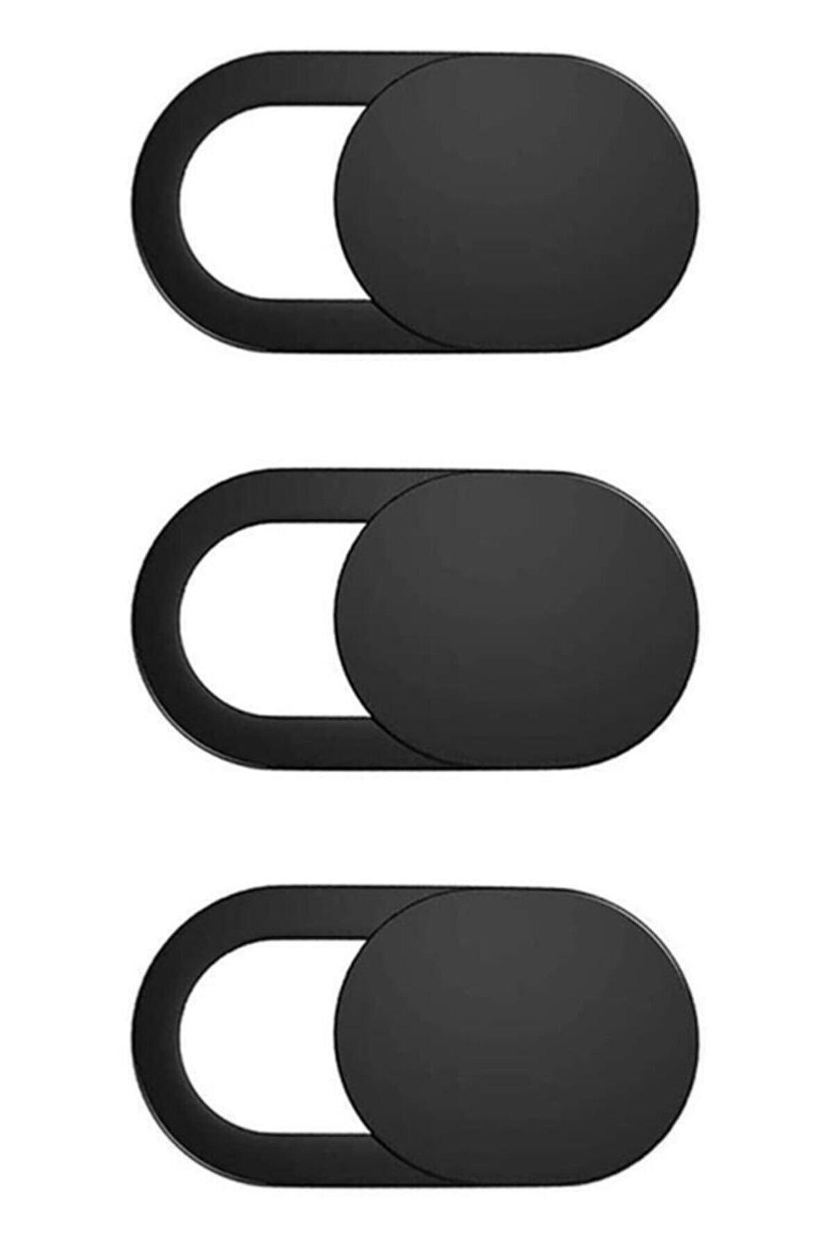 Spelt Laptop Tablet Kamera Webcam Kapatıcı Örtücü Sürgülü Kapak 3'lü