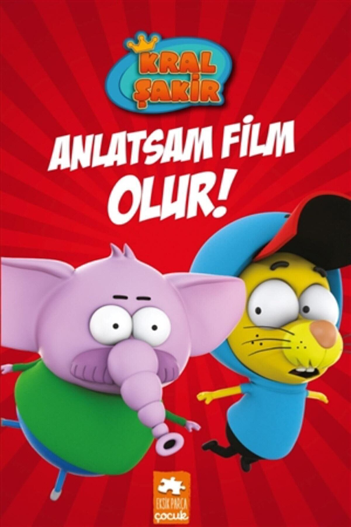 Eksik Parça Yayınları Kral Şakir Anlatsam Film Olur! (ciltli) - Varol Yaşaroğlu
