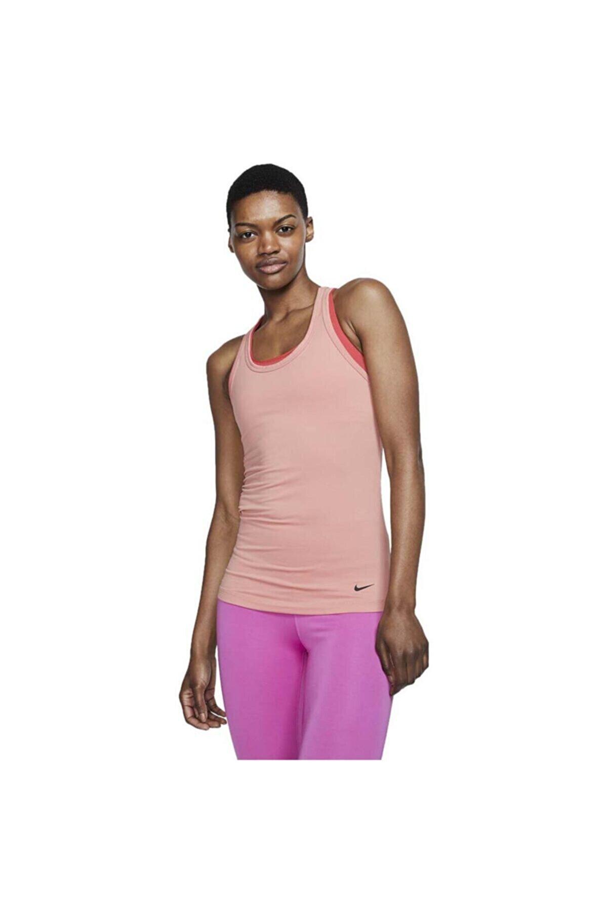 Nike Nıke W Get Fıt Yoga Traınıng Tank Kadın Atlet At0586-606