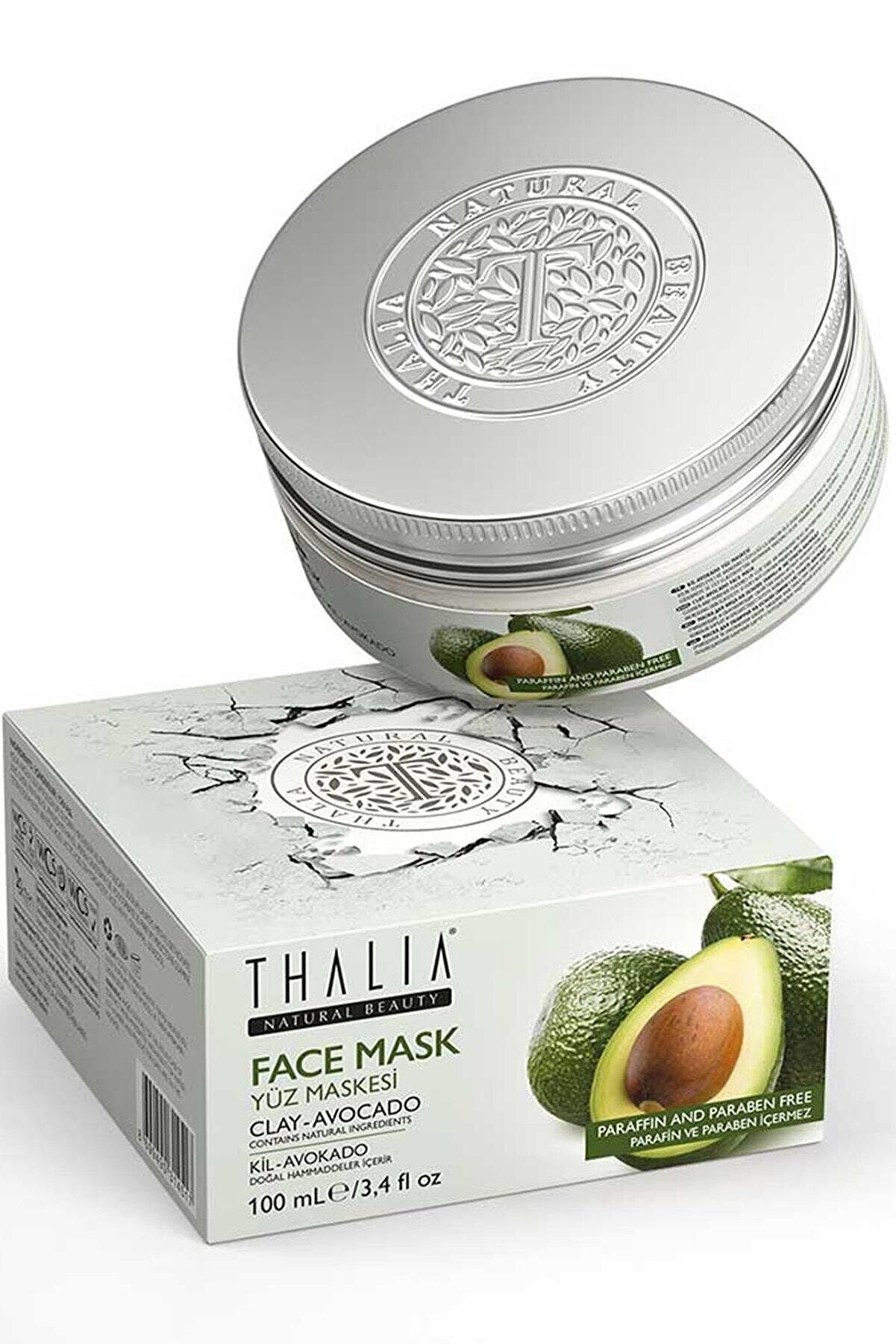 Thalia Avokado – Kil Özlü Yüz Maskesi – 100 ml