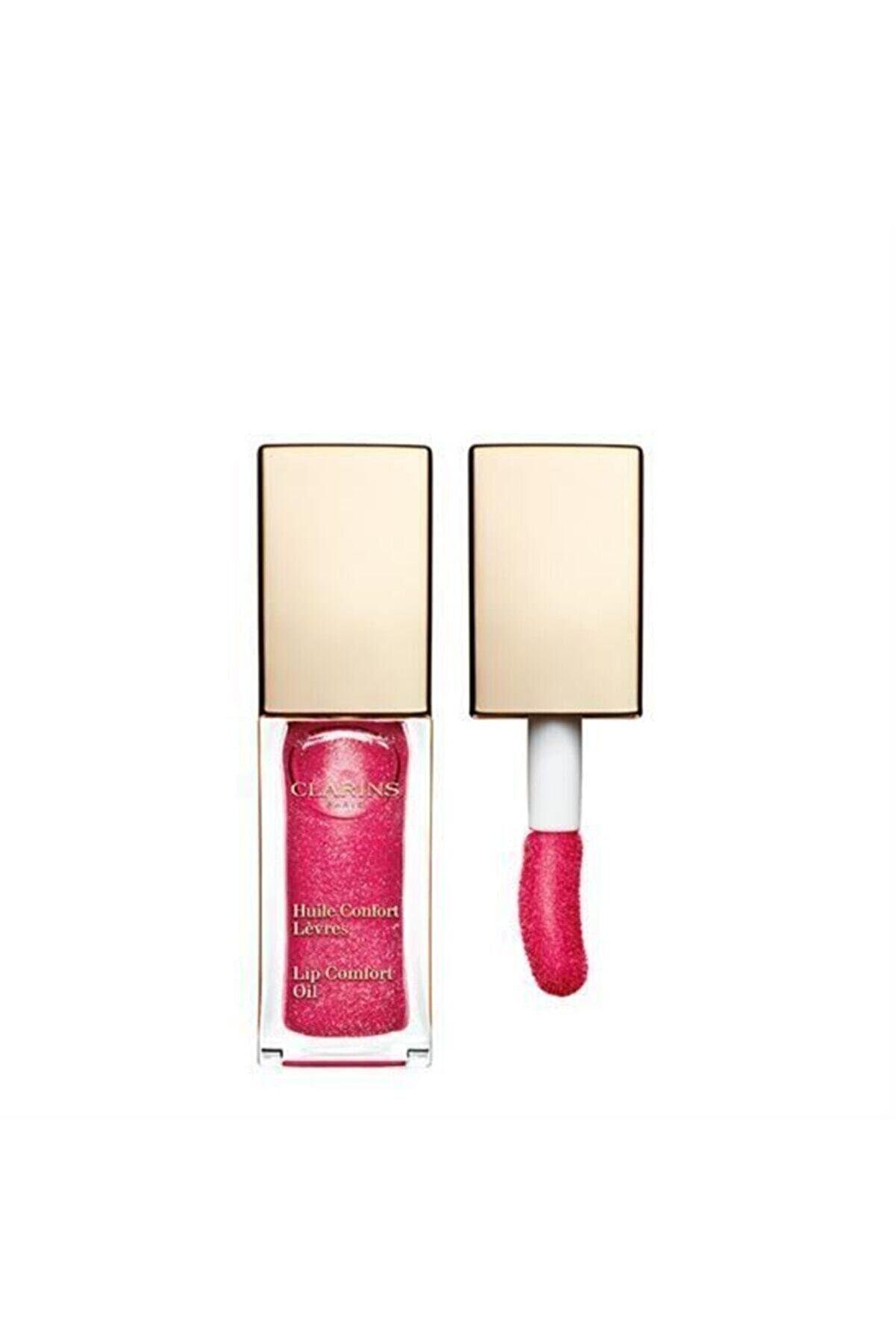 Clarins Lip Comfort Oil 12 Candy Glam Dudak Yağı