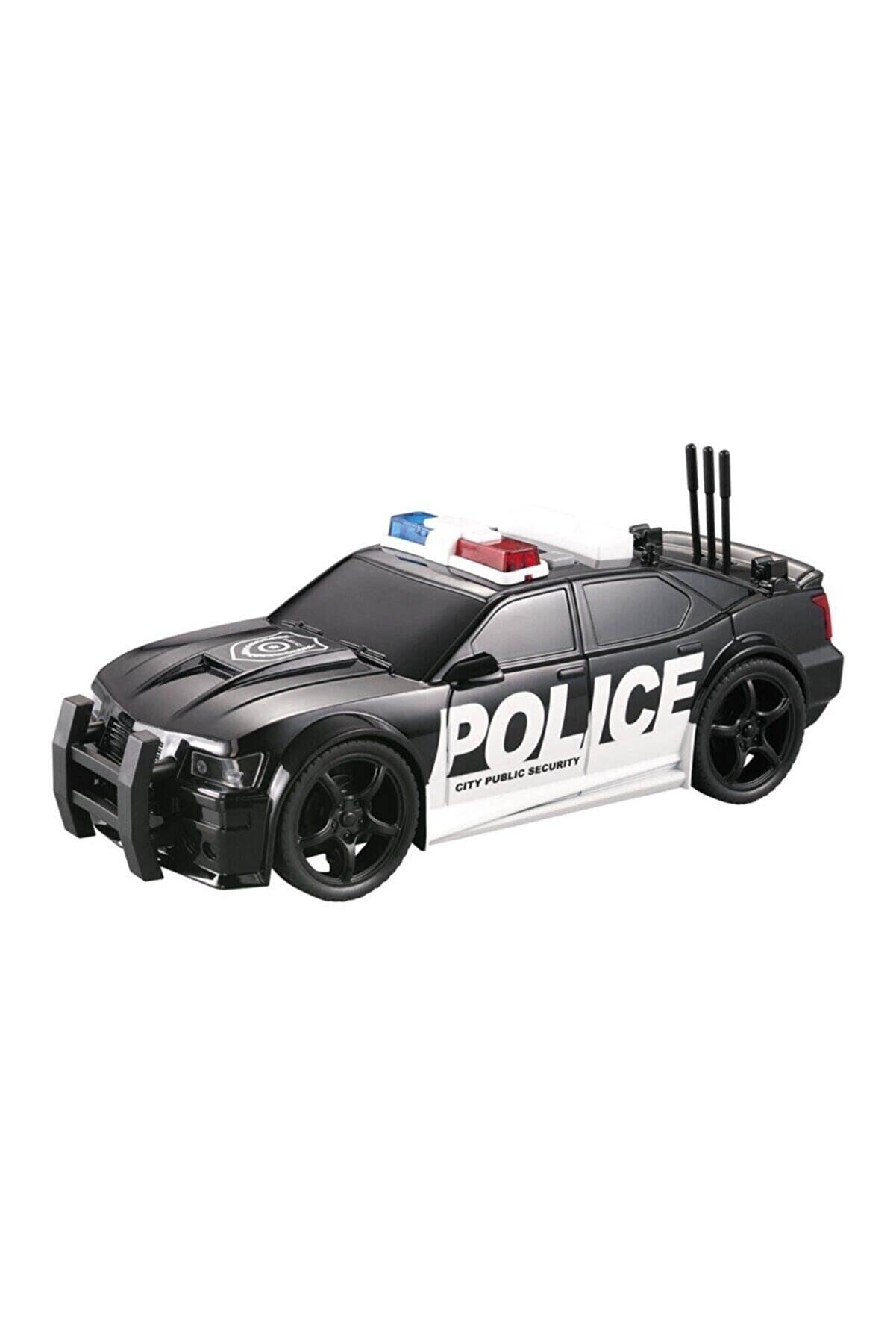 Adel Oyuncak Nitro Speed Polis Arabası 1:20 Sesli Işıklı Siyah