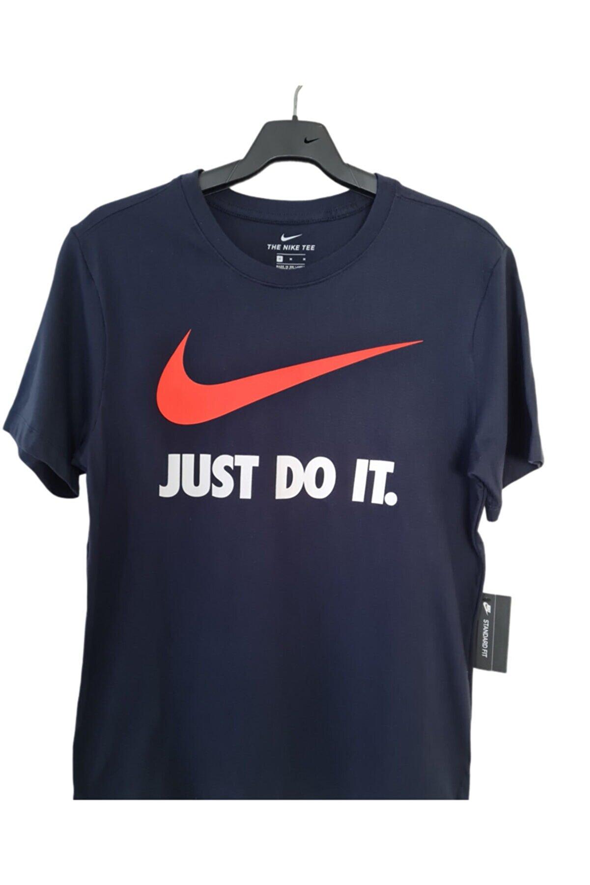 Nike Sprtswear Atletic Swoohs Lacivert  T-Shirt  -bv0623-475