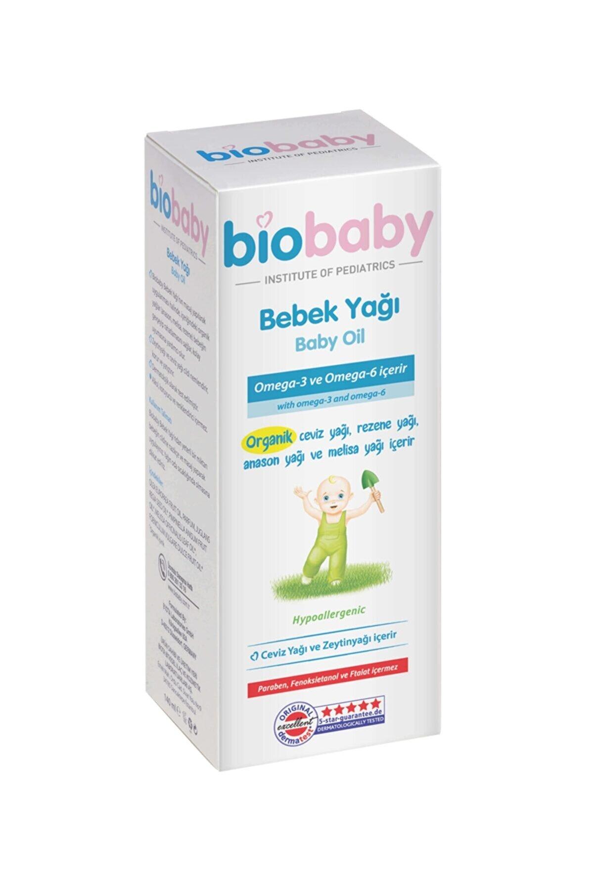 Biobaby Yenidoğan Losyonu Ve Bebek Yağı 30 ml