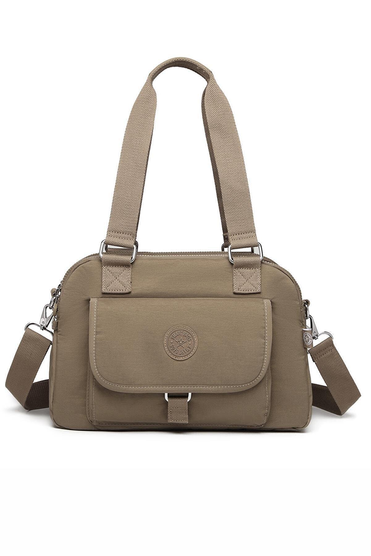 Smart Bags Smbyb1122-0007 Açık Kahverengi Kadın Omuz Çantası