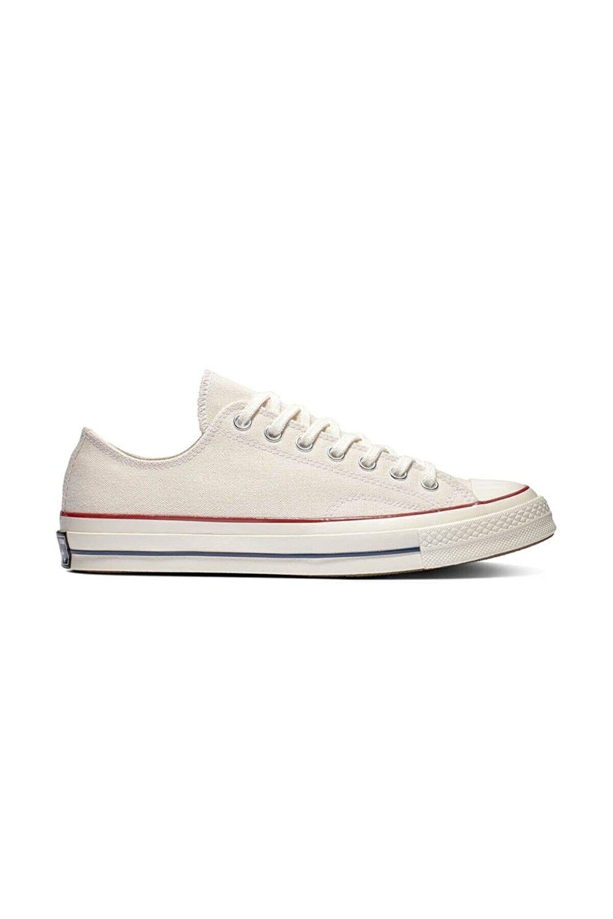 Odal Shoes Unisex Bej Ortopedik Şeritli Sneakers