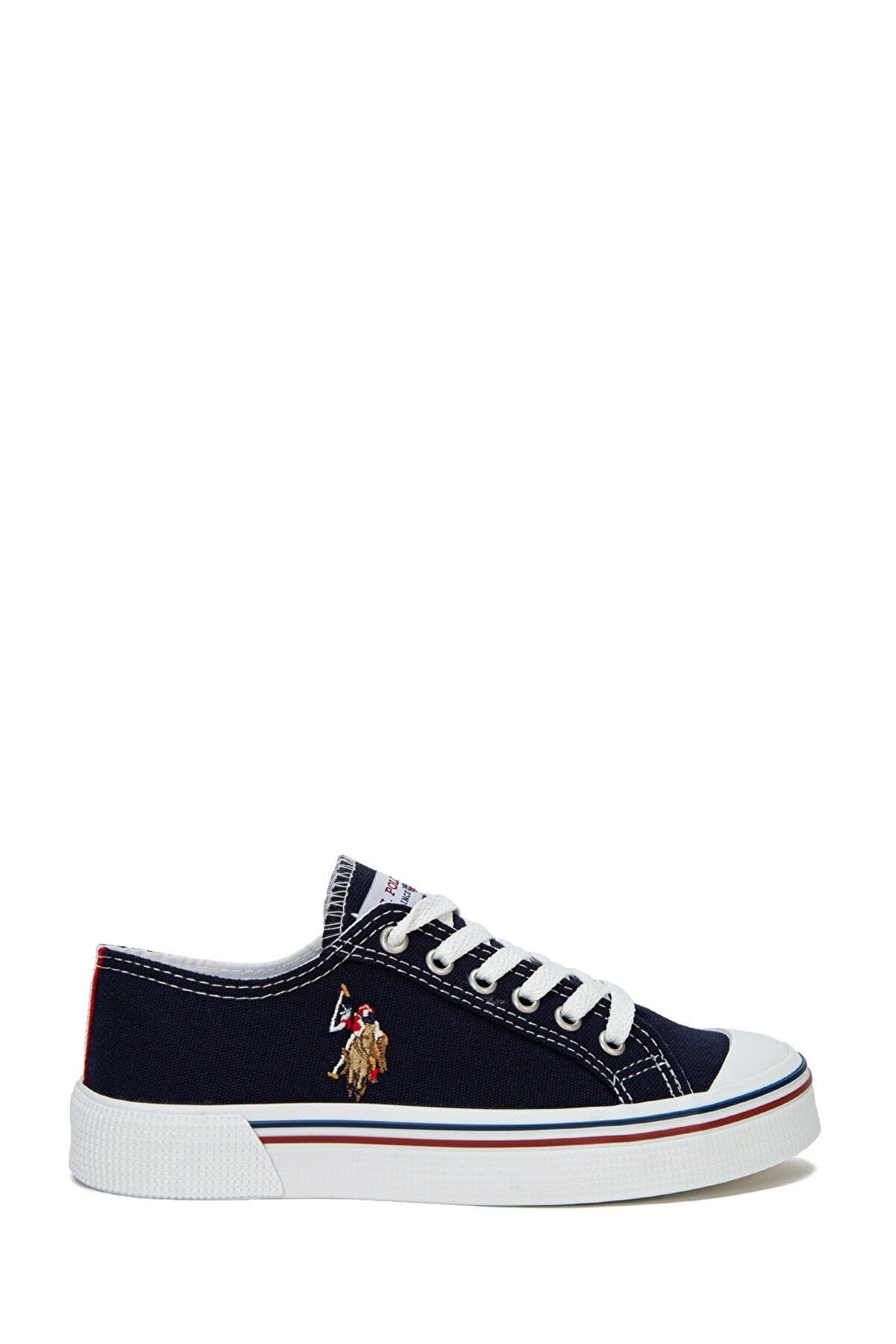 US Polo Assn Lacıvert Kadın Sneaker