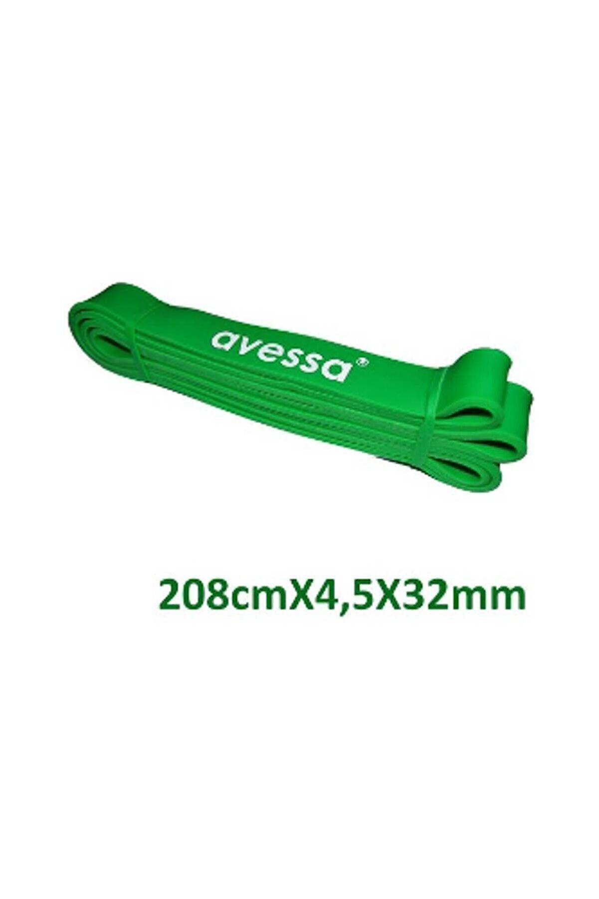 Avessa Latex Güç Bandı Direnç Lastiği Yeşil Lpb32