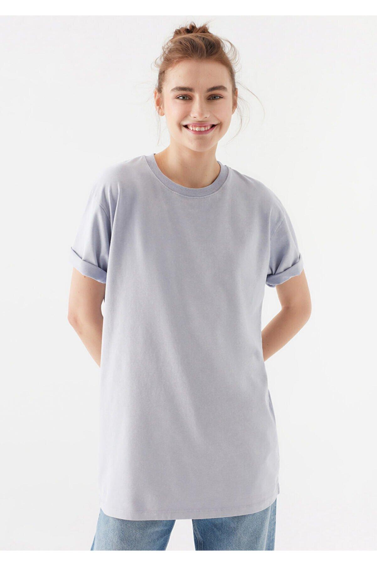 Mavi Kadın Mor Basic Tişört